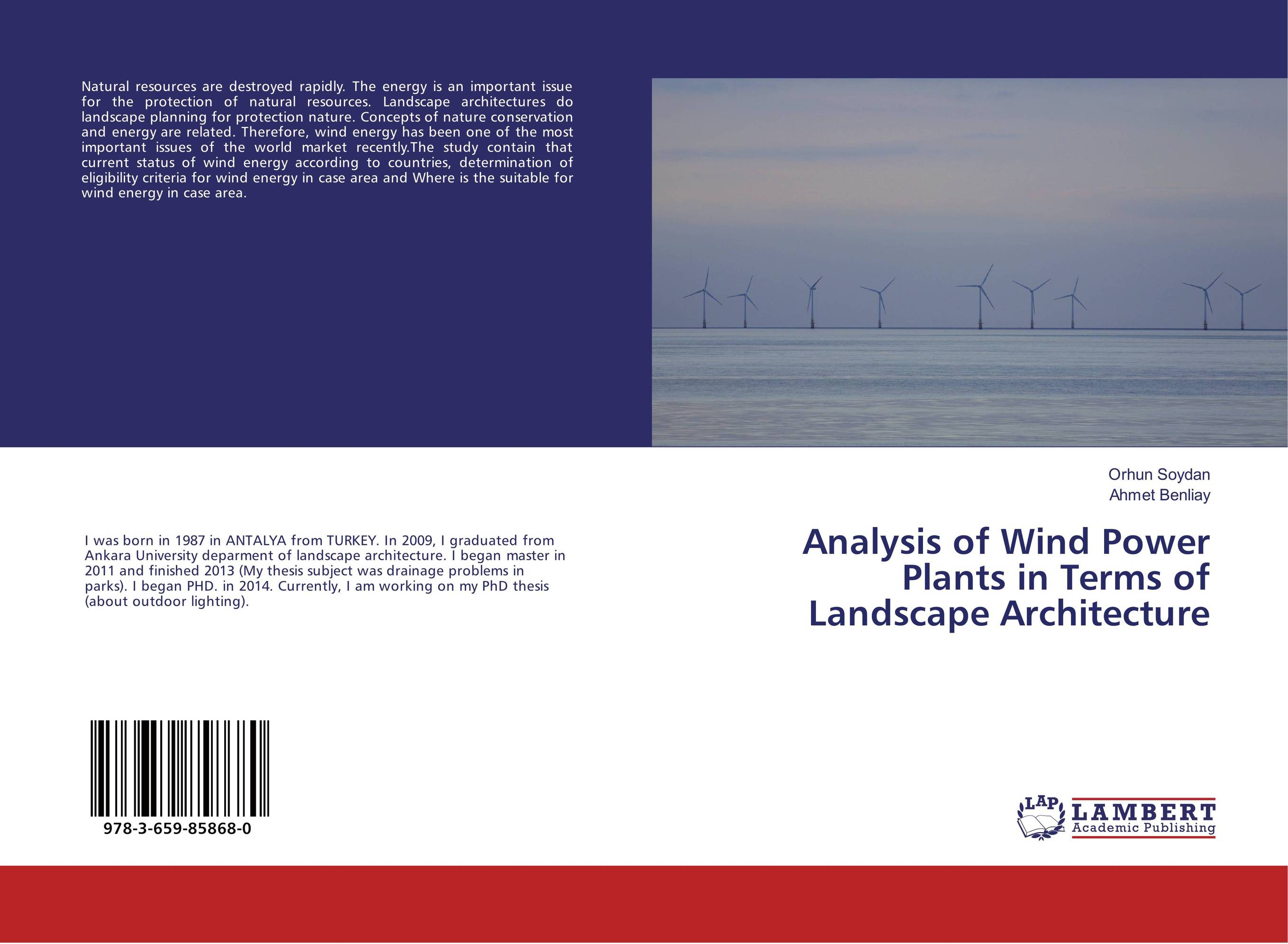 Analysis of Wind Power Plants in Terms of Landscape Architecture