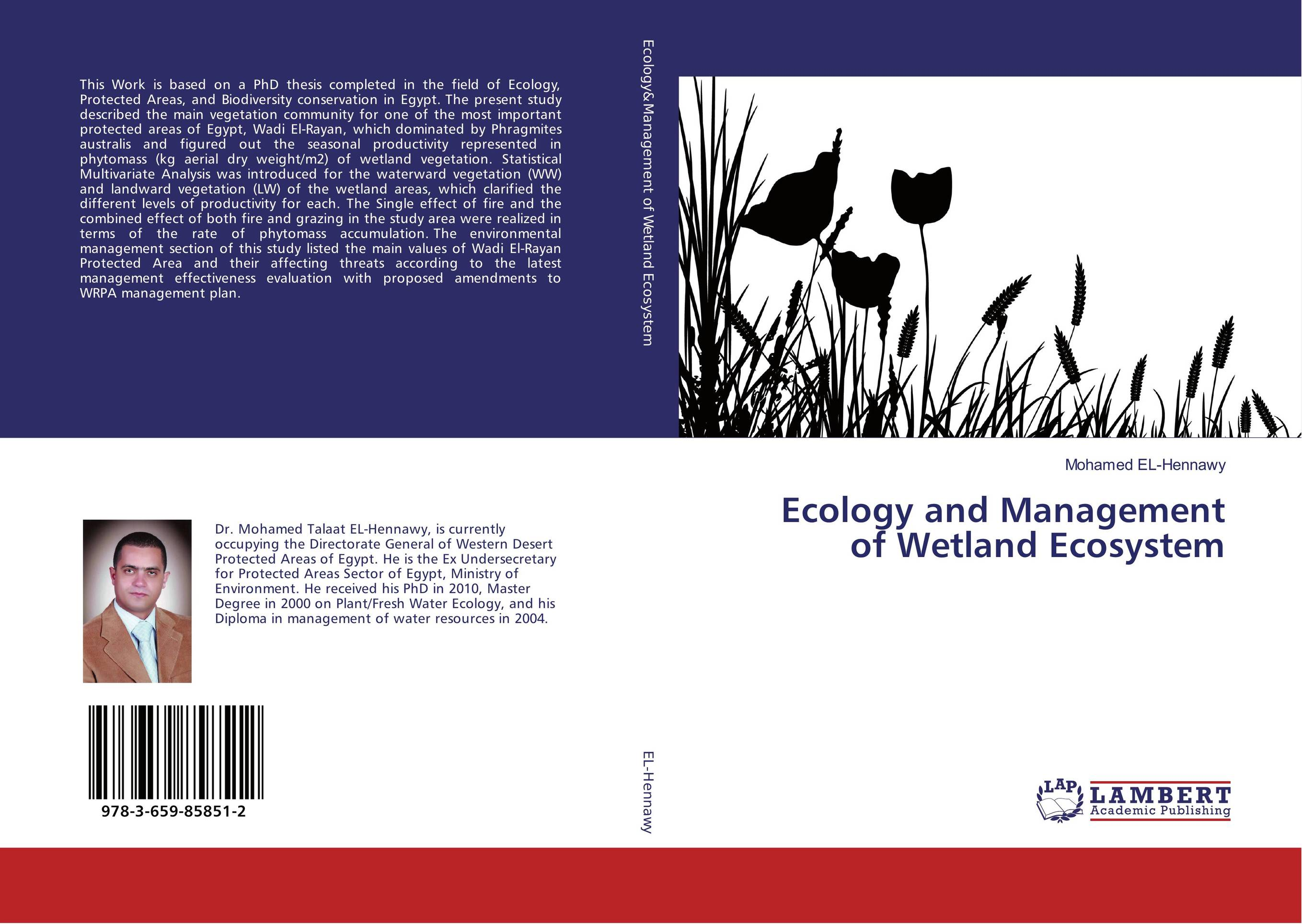 Ecology and Management of Wetland Ecosystem ecosystem ecology