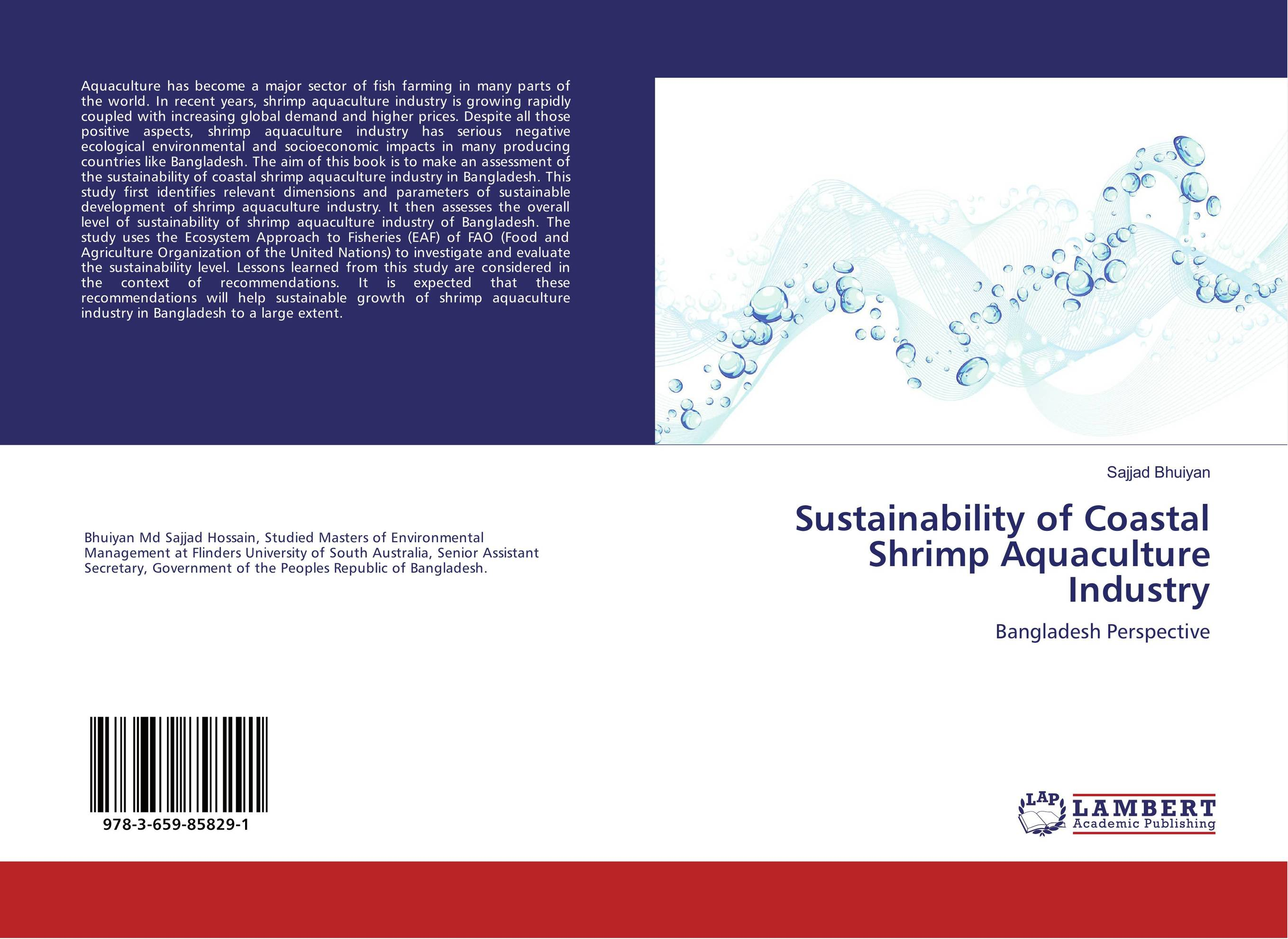 Sustainability of Coastal Shrimp Aquaculture Industry cheryl baldwin j the 10 principles of food industry sustainability