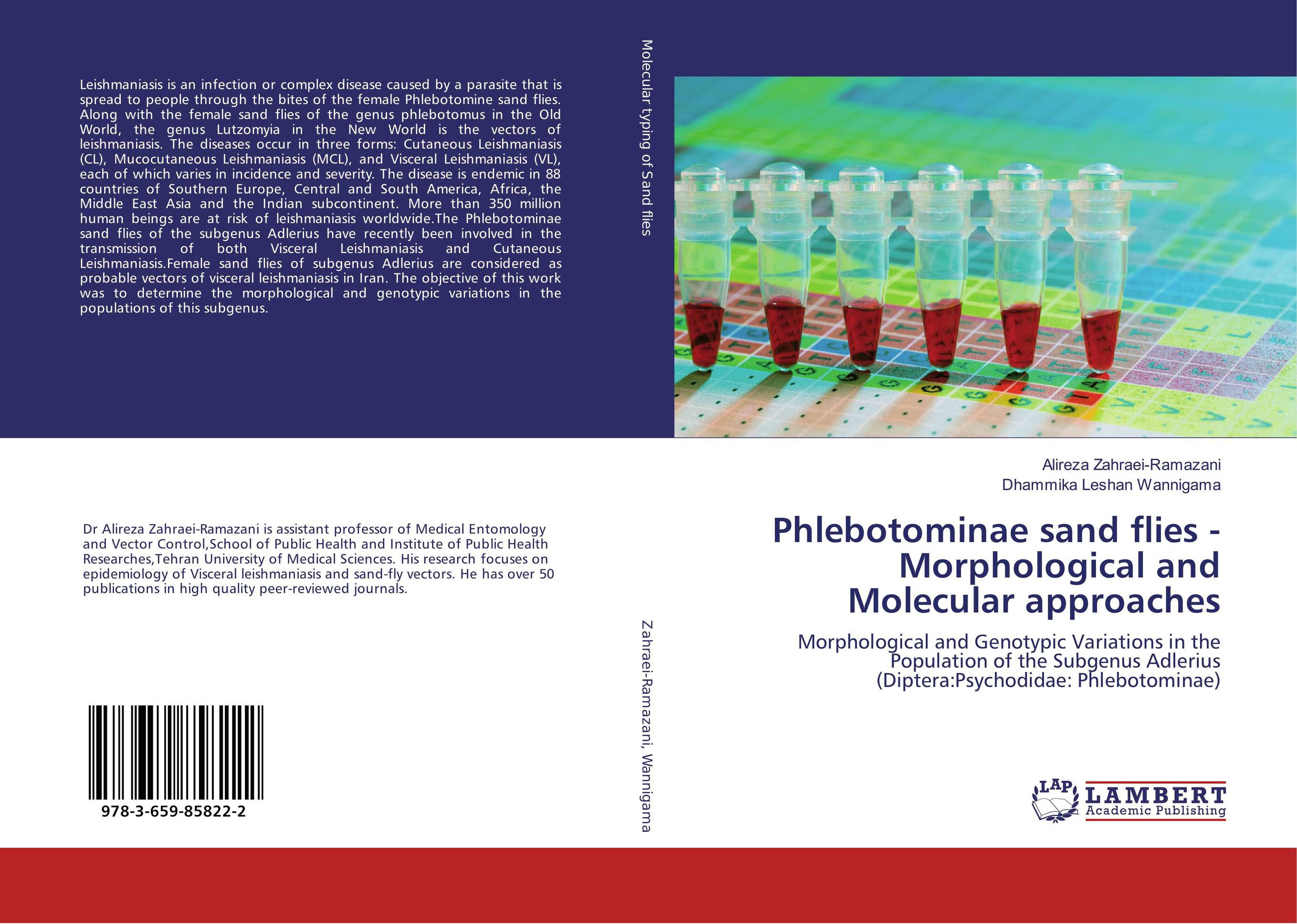 Phlebotominae sand flies -Morphological and Molecular approaches phlebotomine sand flies of central sudan