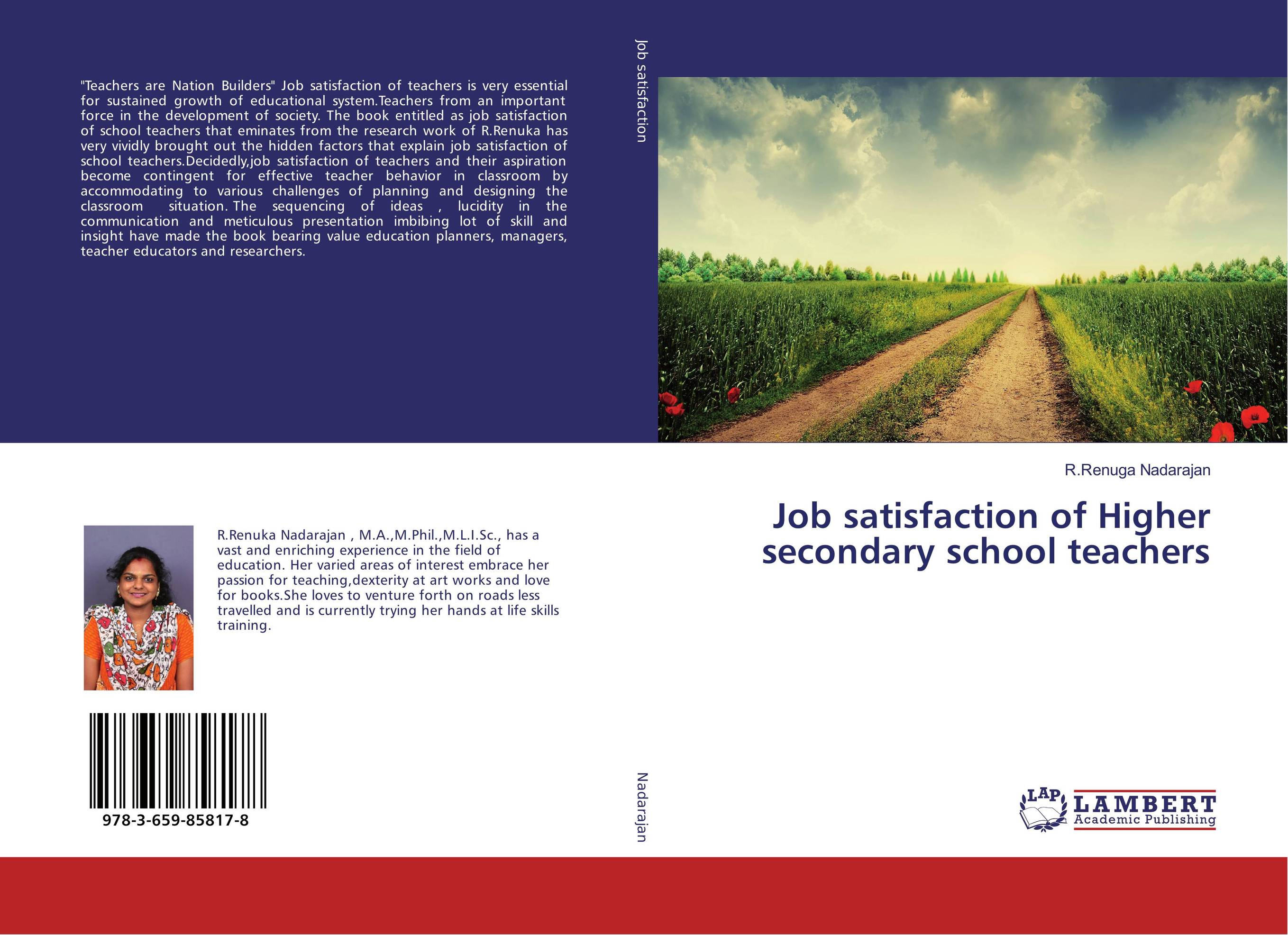 Job satisfaction of Higher secondary school teachers impact of job satisfaction on turnover intentions