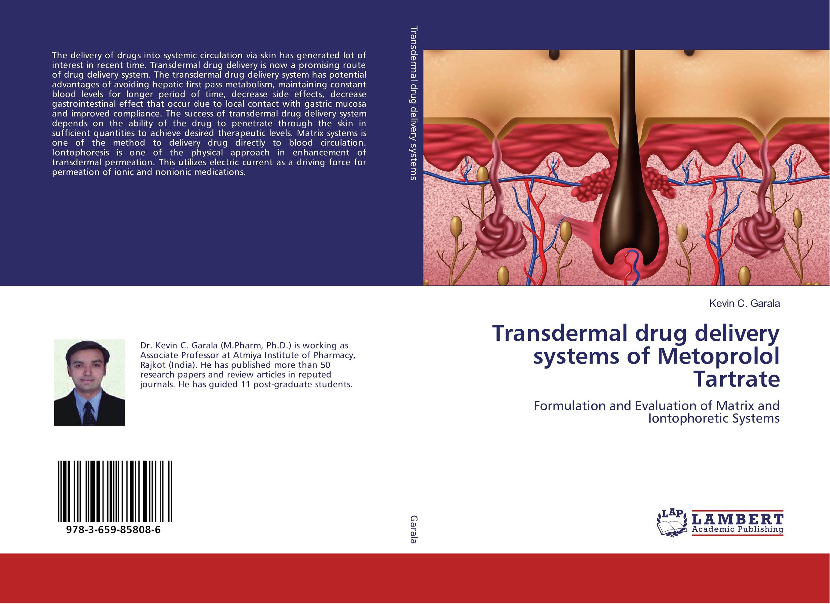 Transdermal drug delivery systems of Metoprolol Tartrate abhishek kumar sah sunil k jain and manmohan singh jangdey a recent approaches in topical drug delivery system