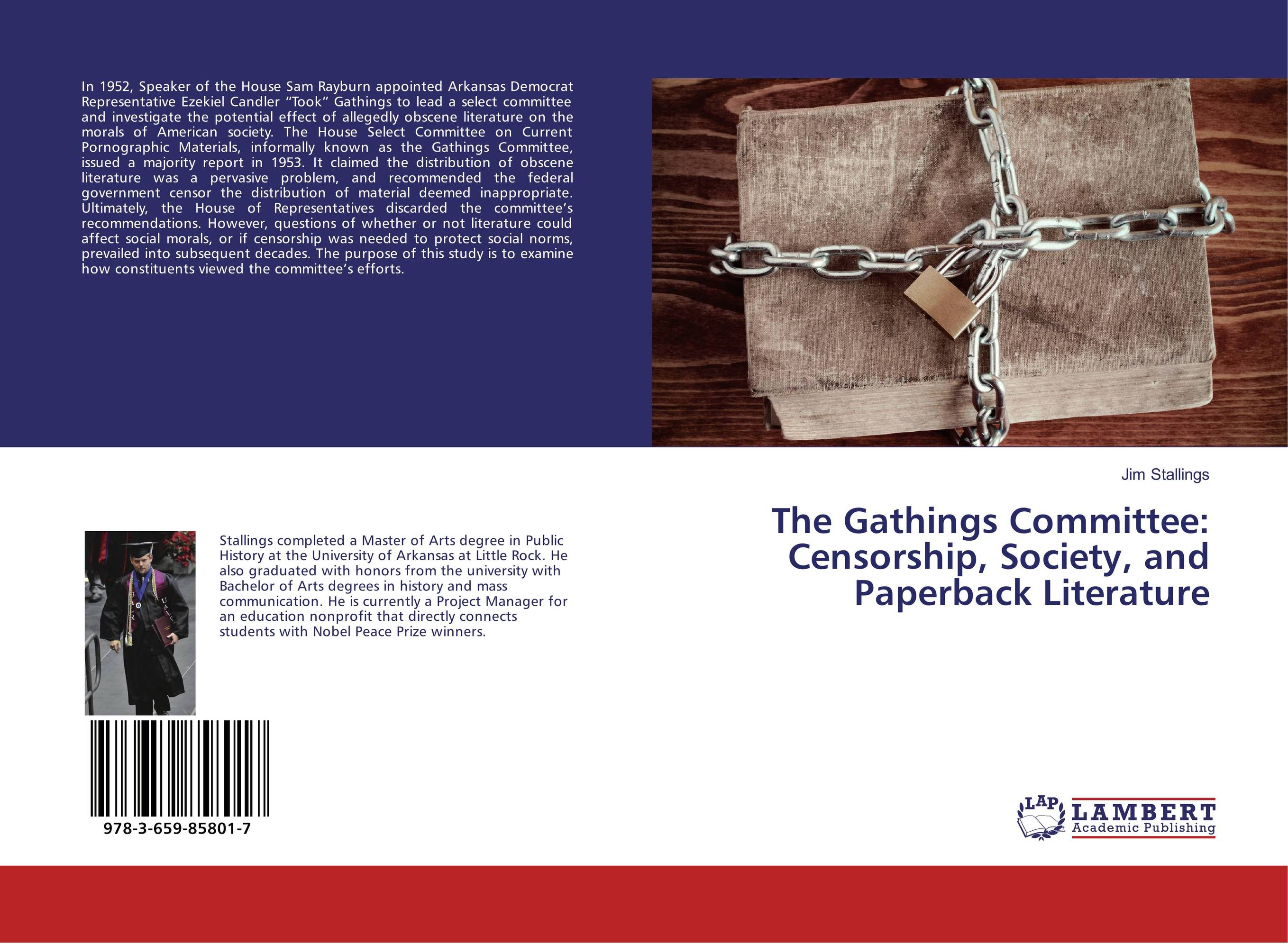 The Gathings Committee: Censorship, Society, and Paperback Literature
