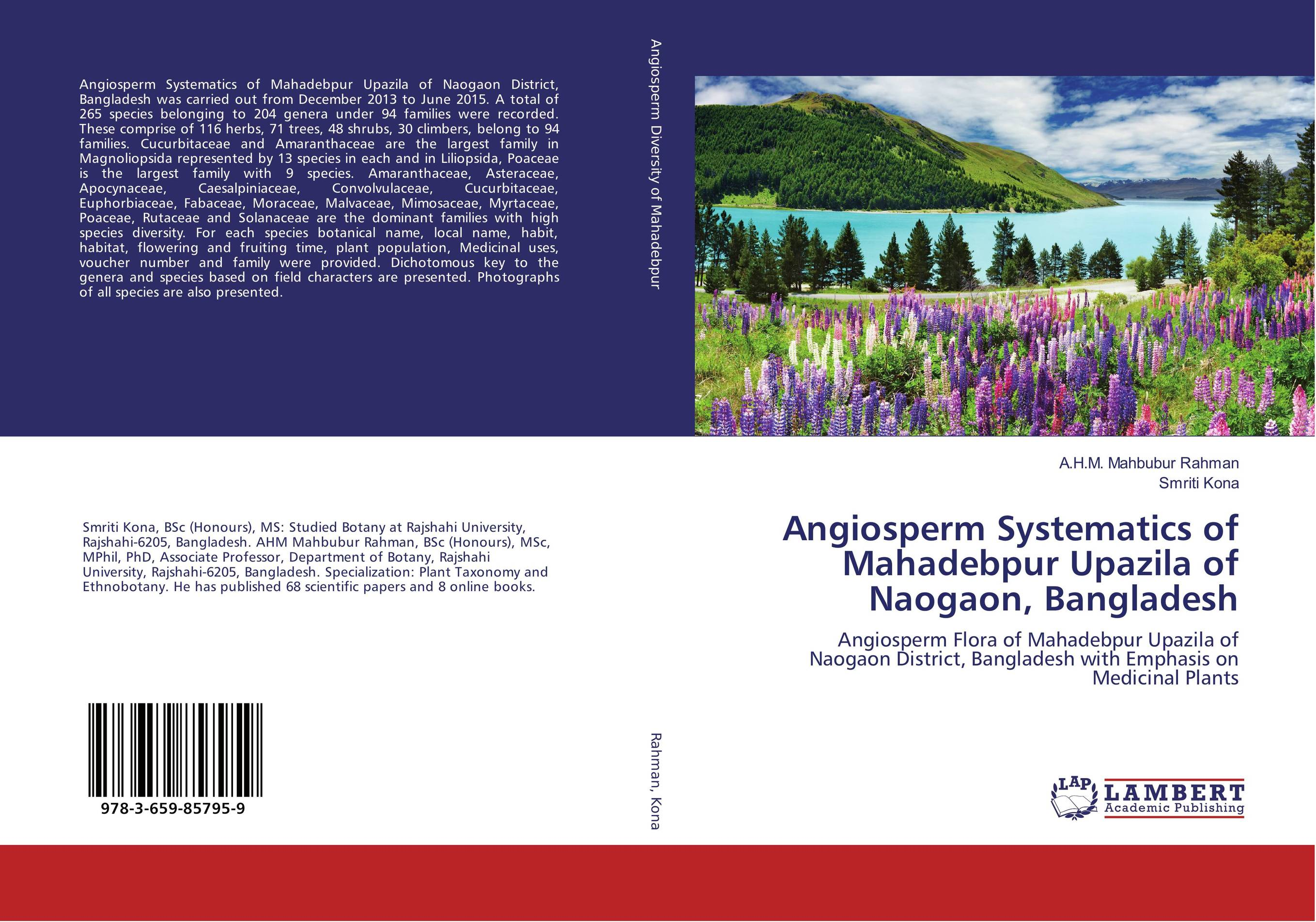 Angiosperm Systematics of Mahadebpur Upazila of Naogaon, Bangladesh systematics on family tabanidae in egypt