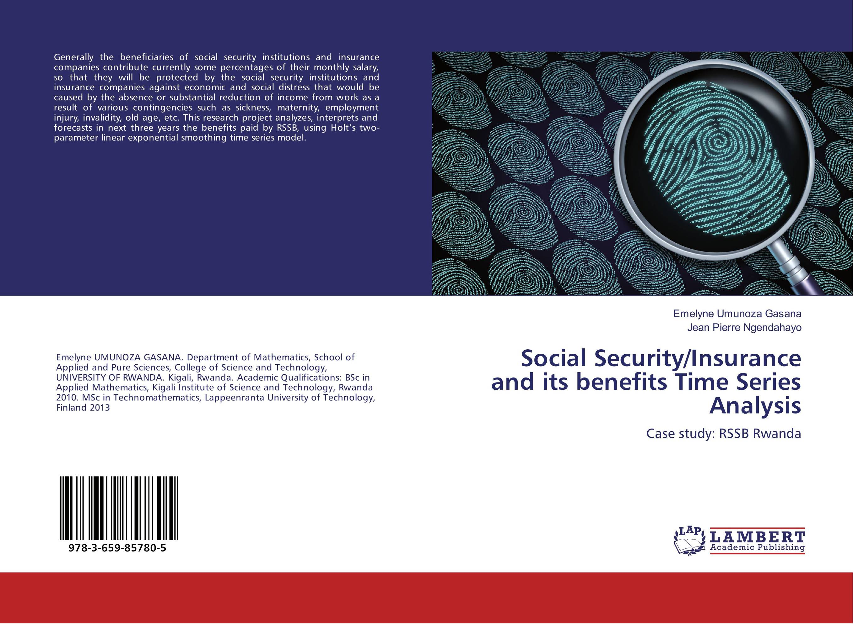 Social Security/Insurance and its benefits Time Series Analysis common tern its breeding biology and social