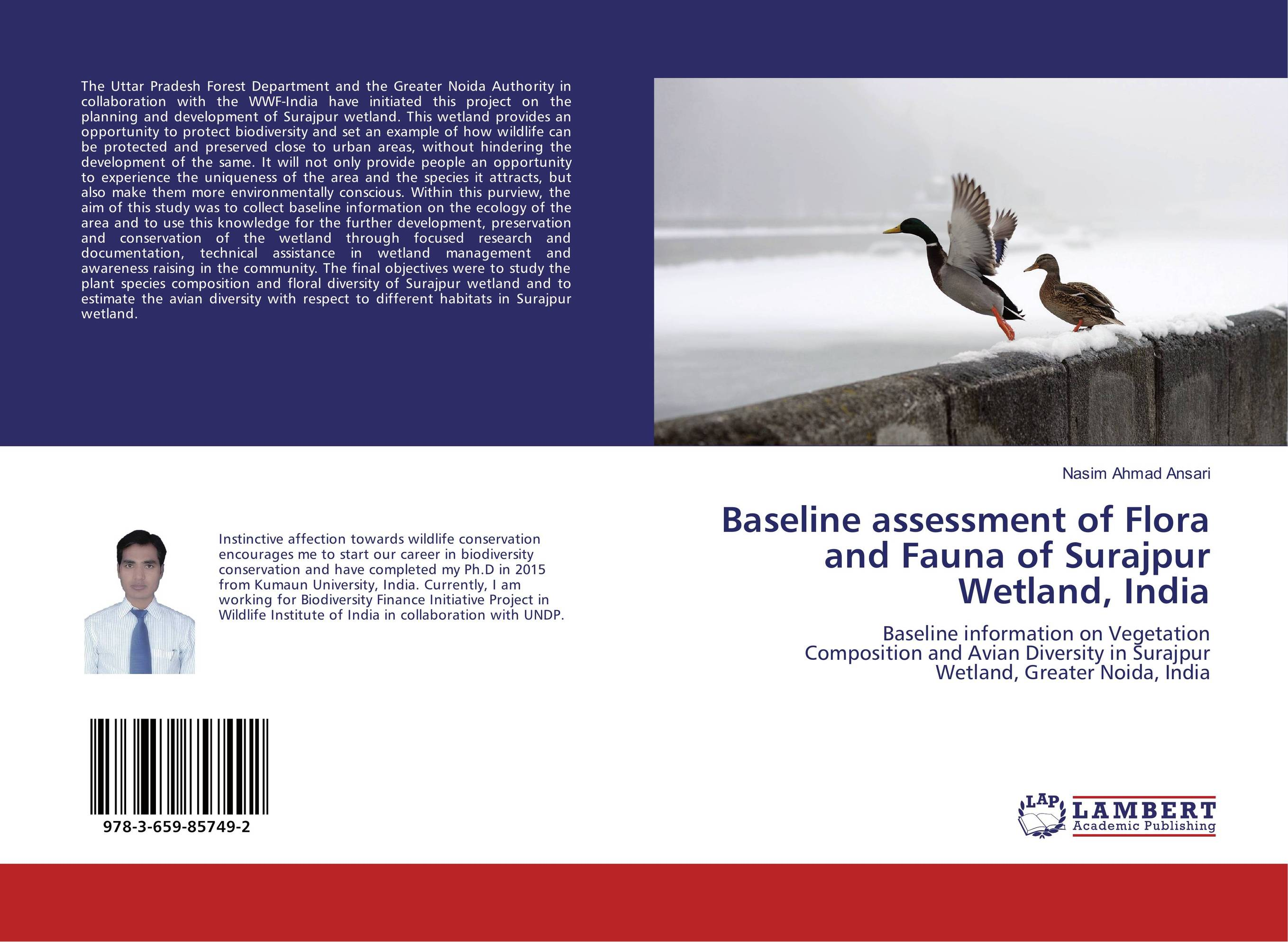 Baseline assessment of Flora and Fauna of Surajpur Wetland, India bacterial composition of constructed wetland s biofilm