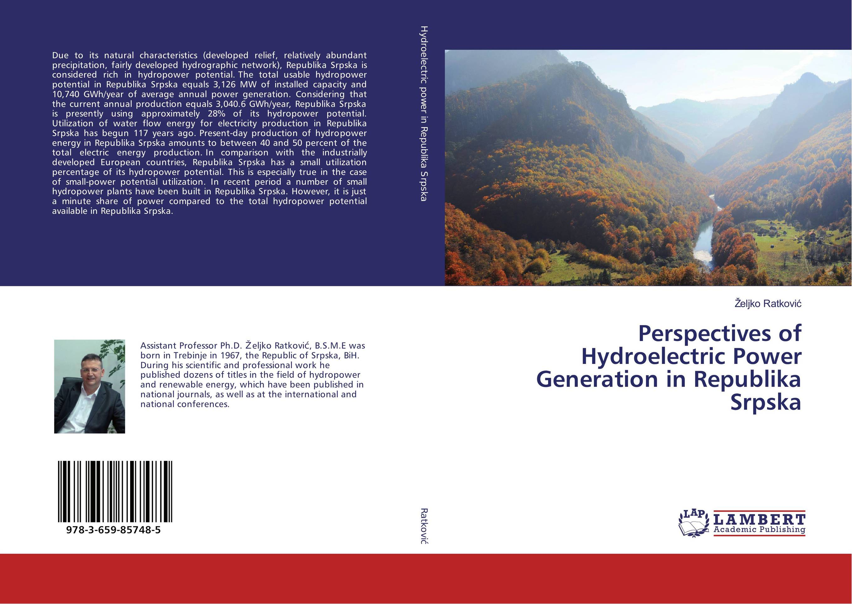 Perspectives of Hydroelectric Power Generation in Republika Srpska development of a computational interface for small hydropower plant