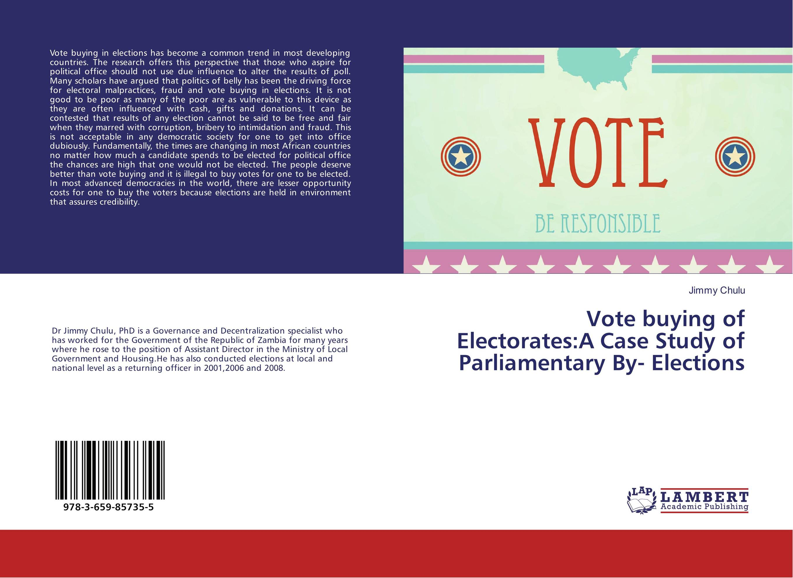 Vote buying of Electorates:A Case Study of Parliamentary By- Elections right to vote and to be elected in divided societies