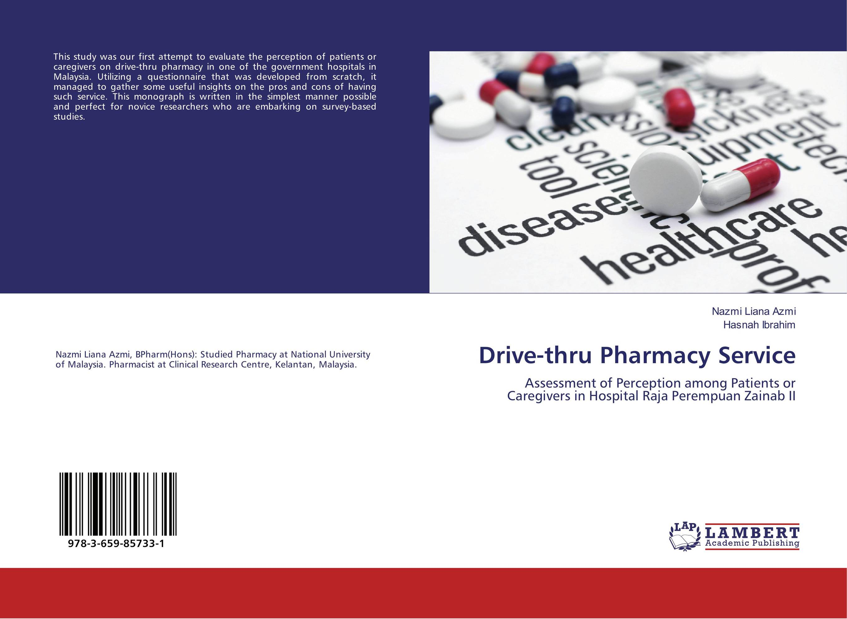 Drive-thru Pharmacy Service a concise textbook of community pharmacy