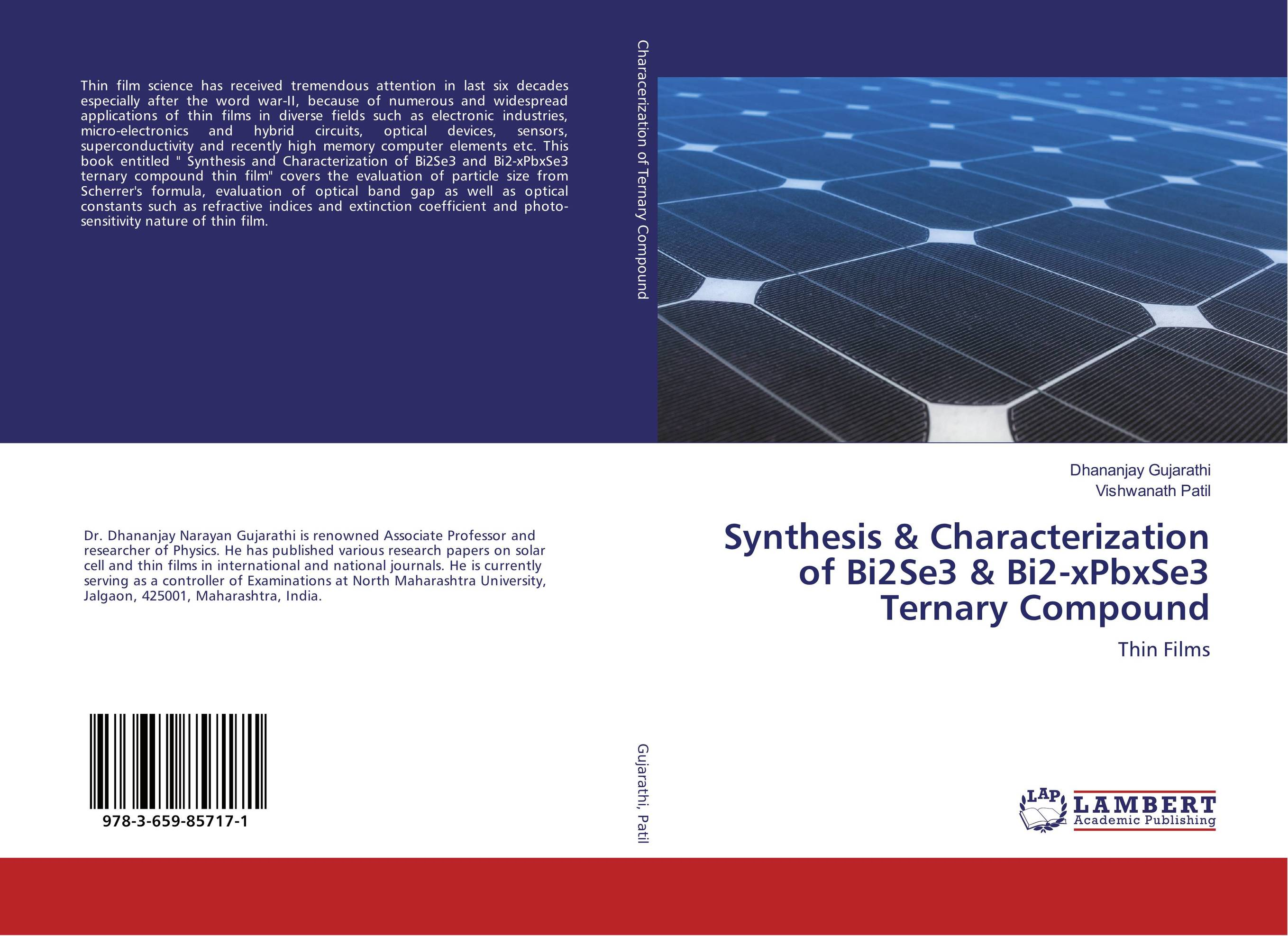 Synthesis & Characterization of Bi2Se3 & Bi2-xPbxSe3 Ternary Compound