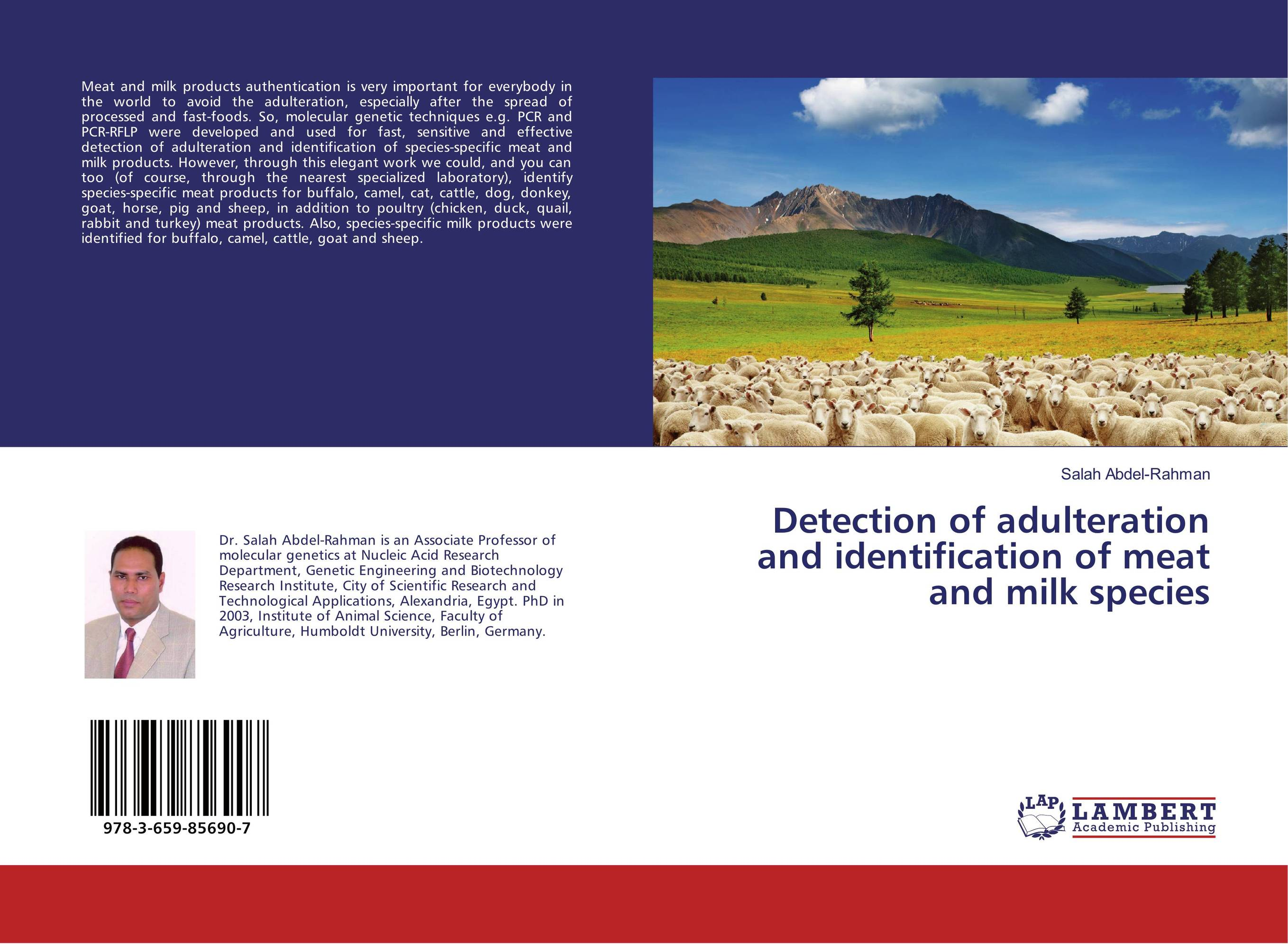 Detection of adulteration and identification of meat and milk species