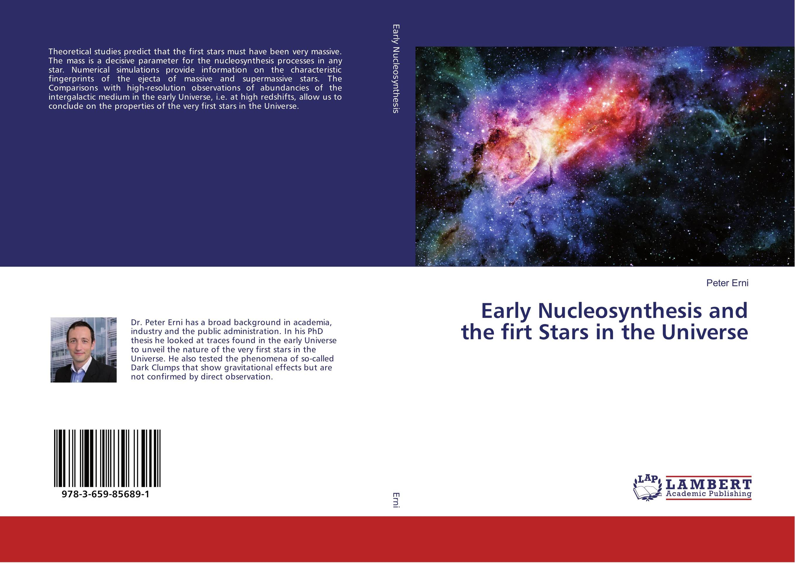 Early Nucleosynthesis and the firt Stars in the Universe masters of the universe