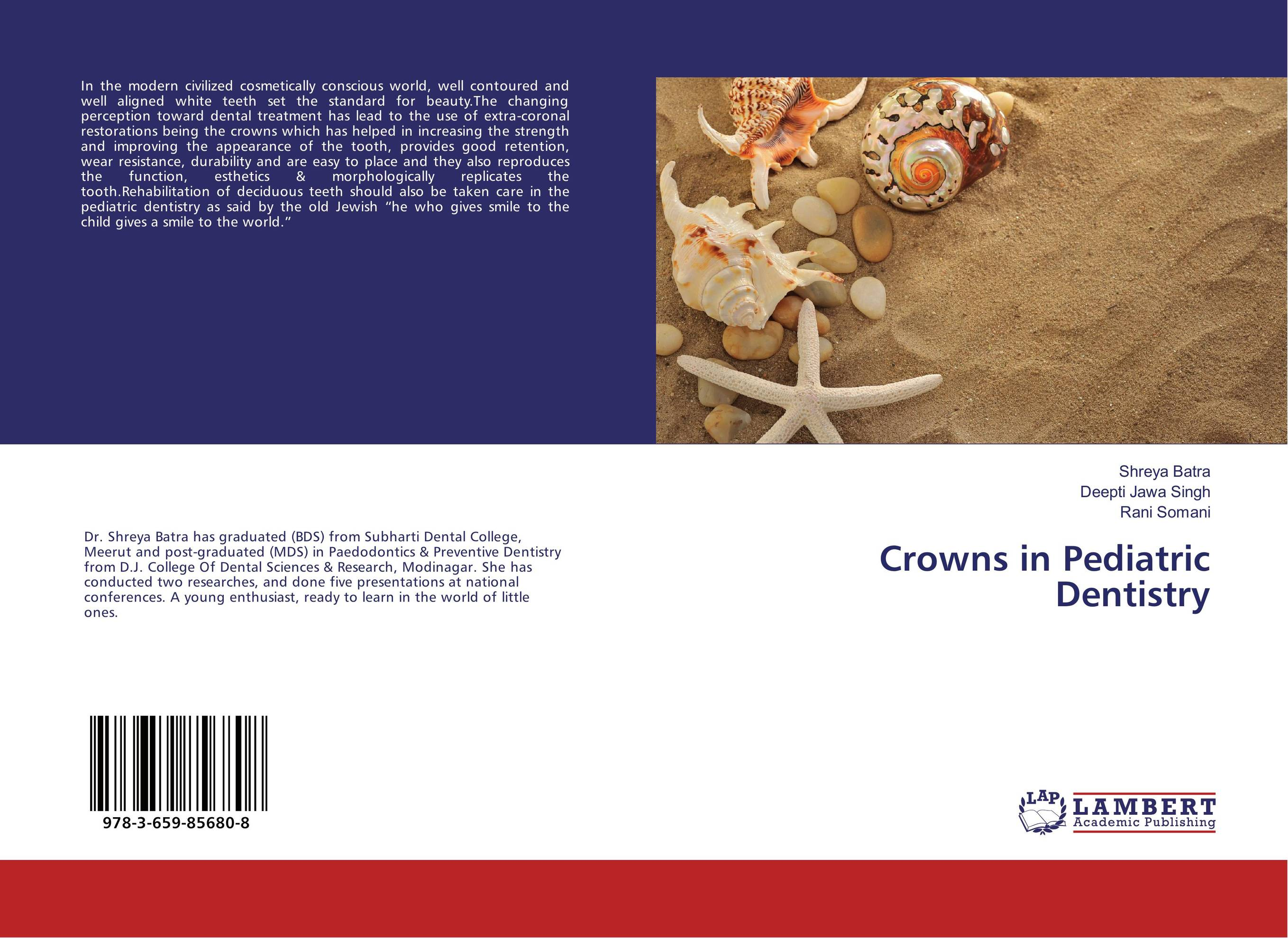 Crowns in Pediatric Dentistry esthetics in implant dentistry