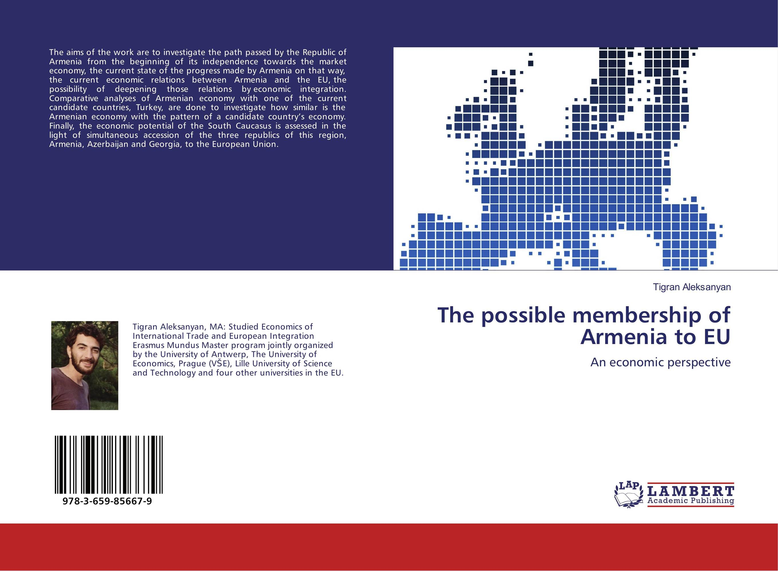 The possible membership of Armenia to EU john dearie where the jobs are entrepreneurship and the soul of the american economy