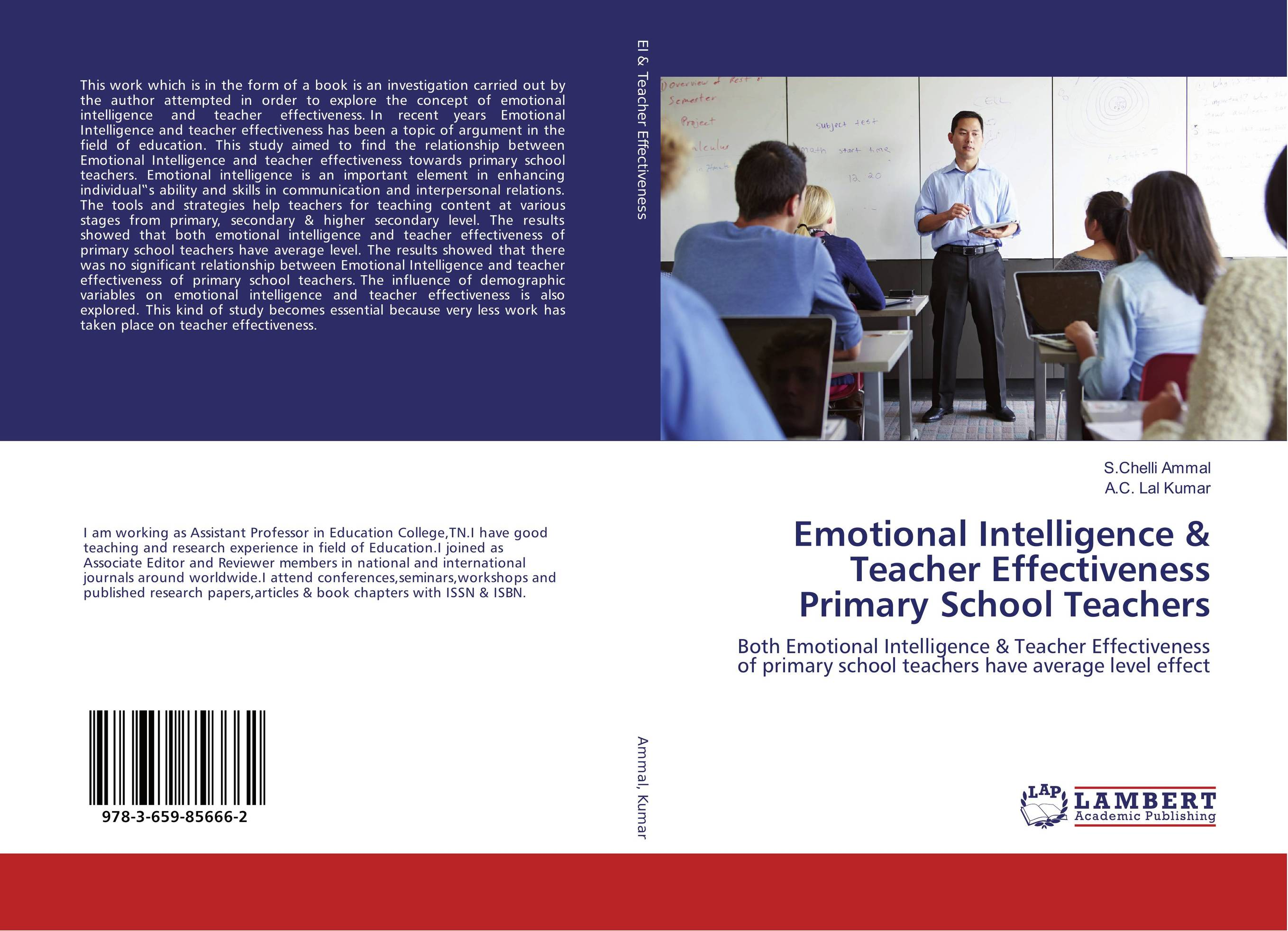 Emotional Intelligence & Teacher Effectiveness Primary School Teachers teacher s use of english coursebooks with primary school learners