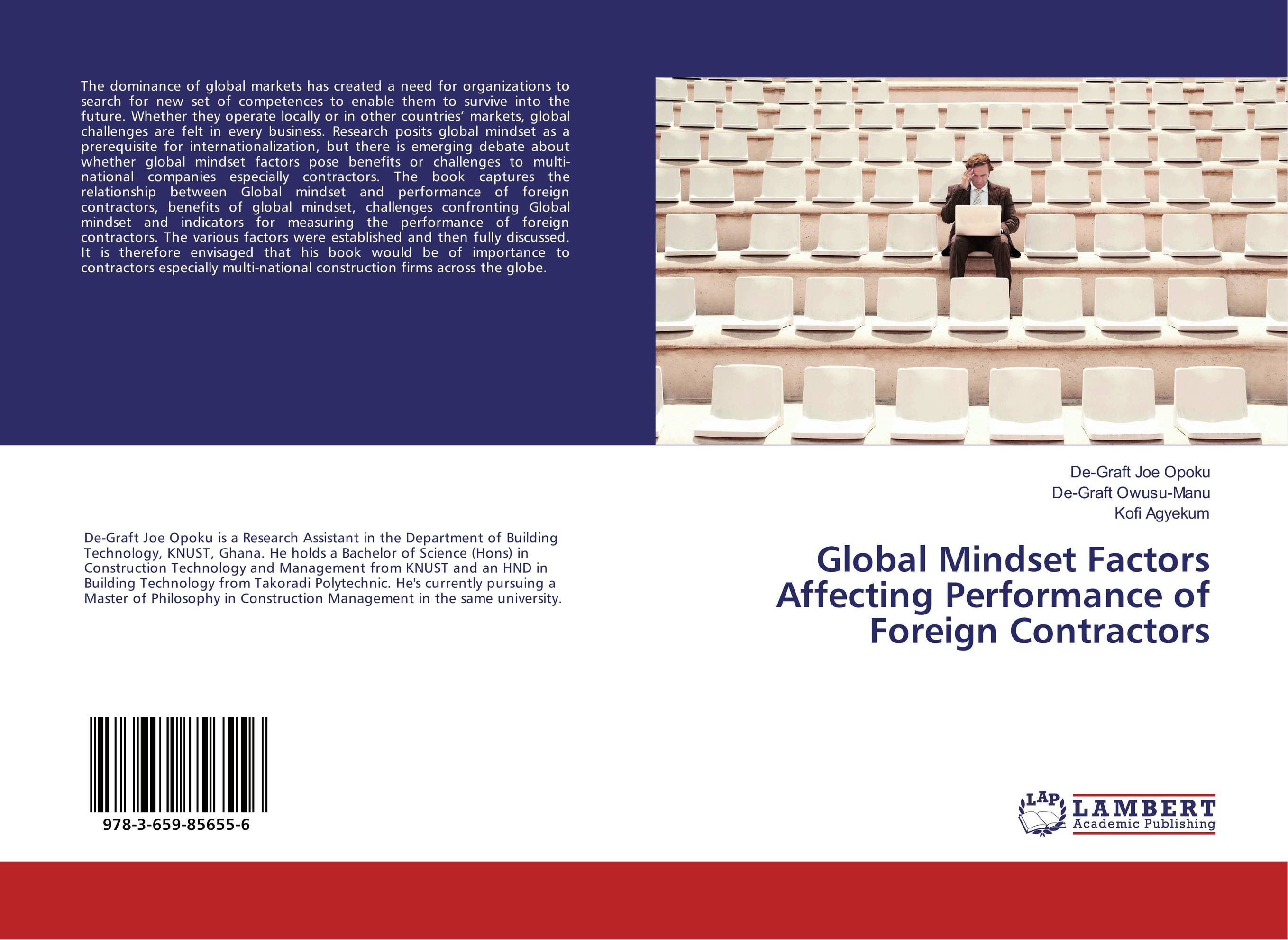 Global Mindset Factors Affecting Performance of Foreign Contractors bruce feibel j complying with the global investment performance standards gips