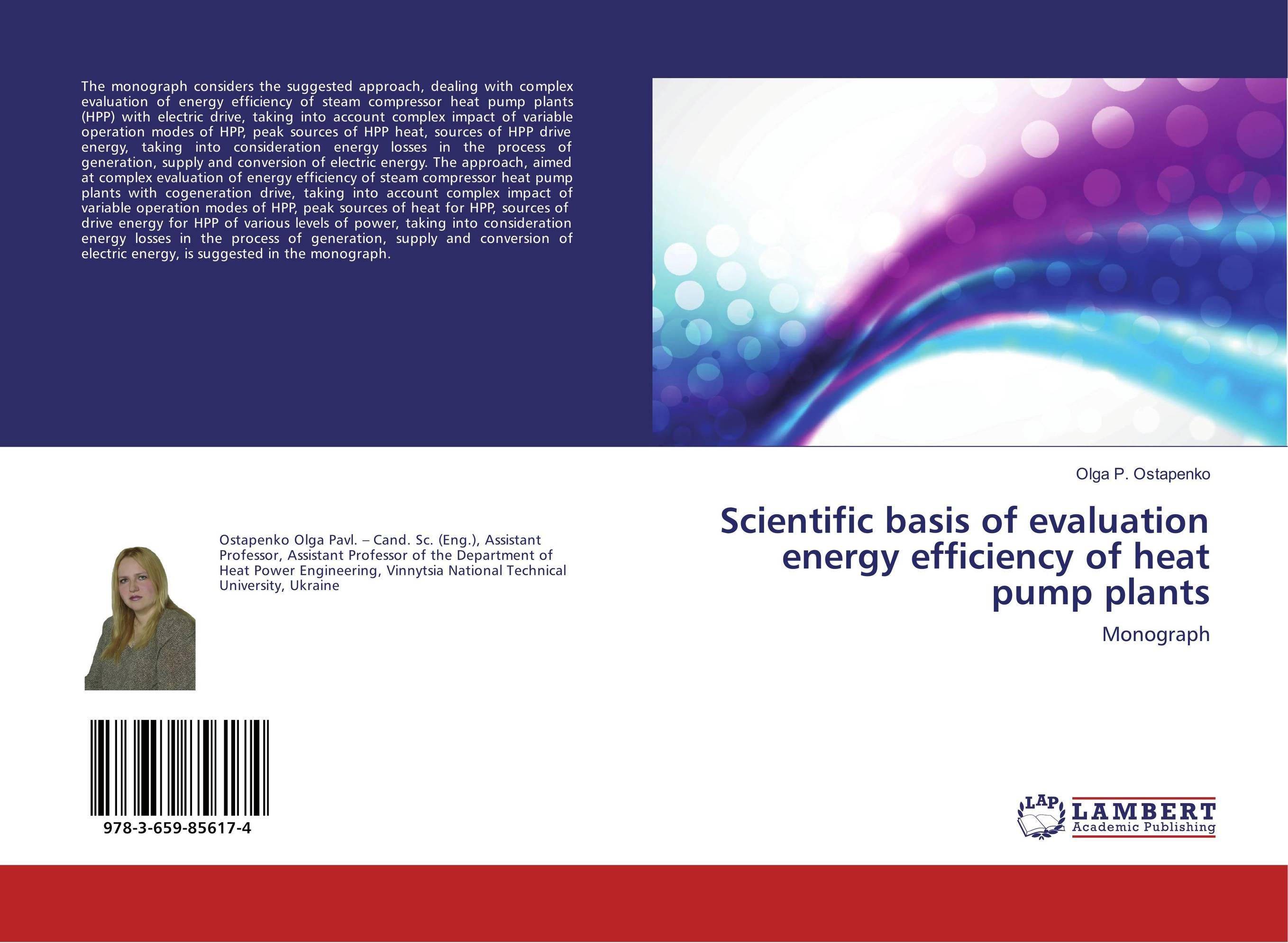 Scientific basis of evaluation energy efficiency of heat pump plants evaluation of the impact of a mega sporting event