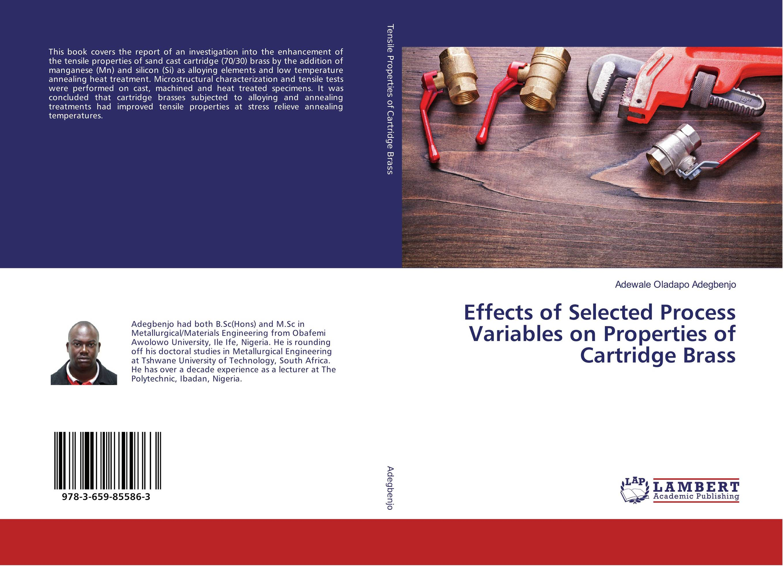 Effects of Selected Process Variables on Properties of Cartridge Brass