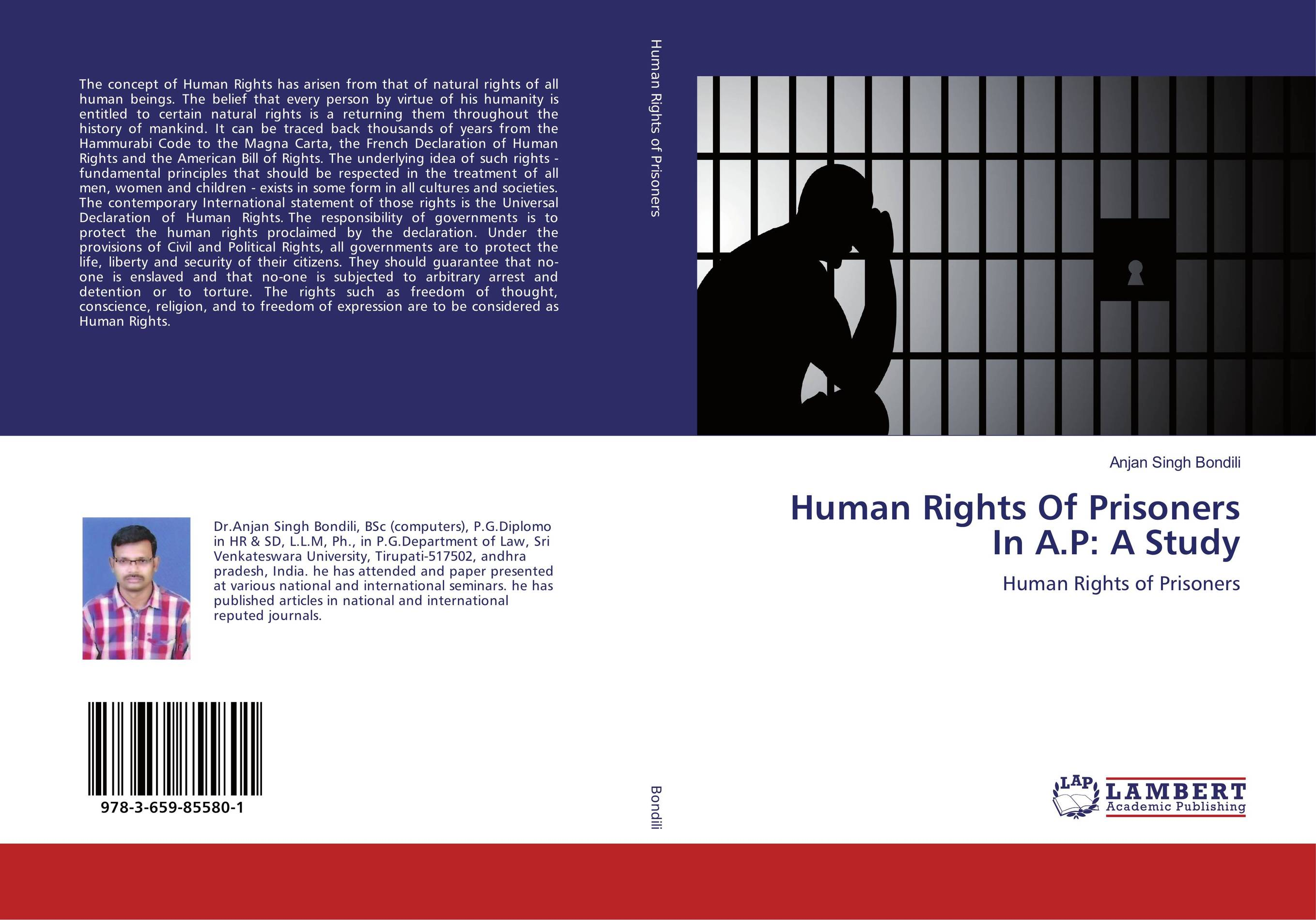 Human Rights Of Prisoners In A.P: A Study education training and human rights of the prisoners