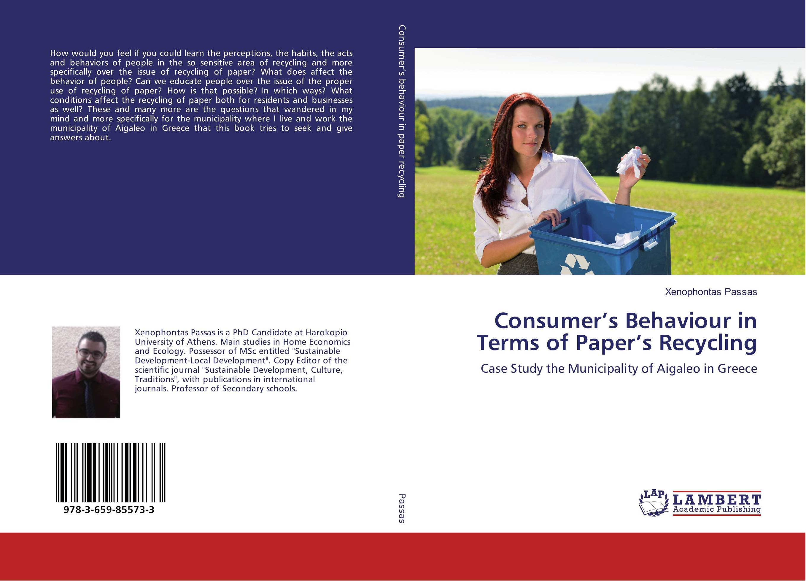 Consumer's Behaviour in Terms of Paper's Recycling more of me