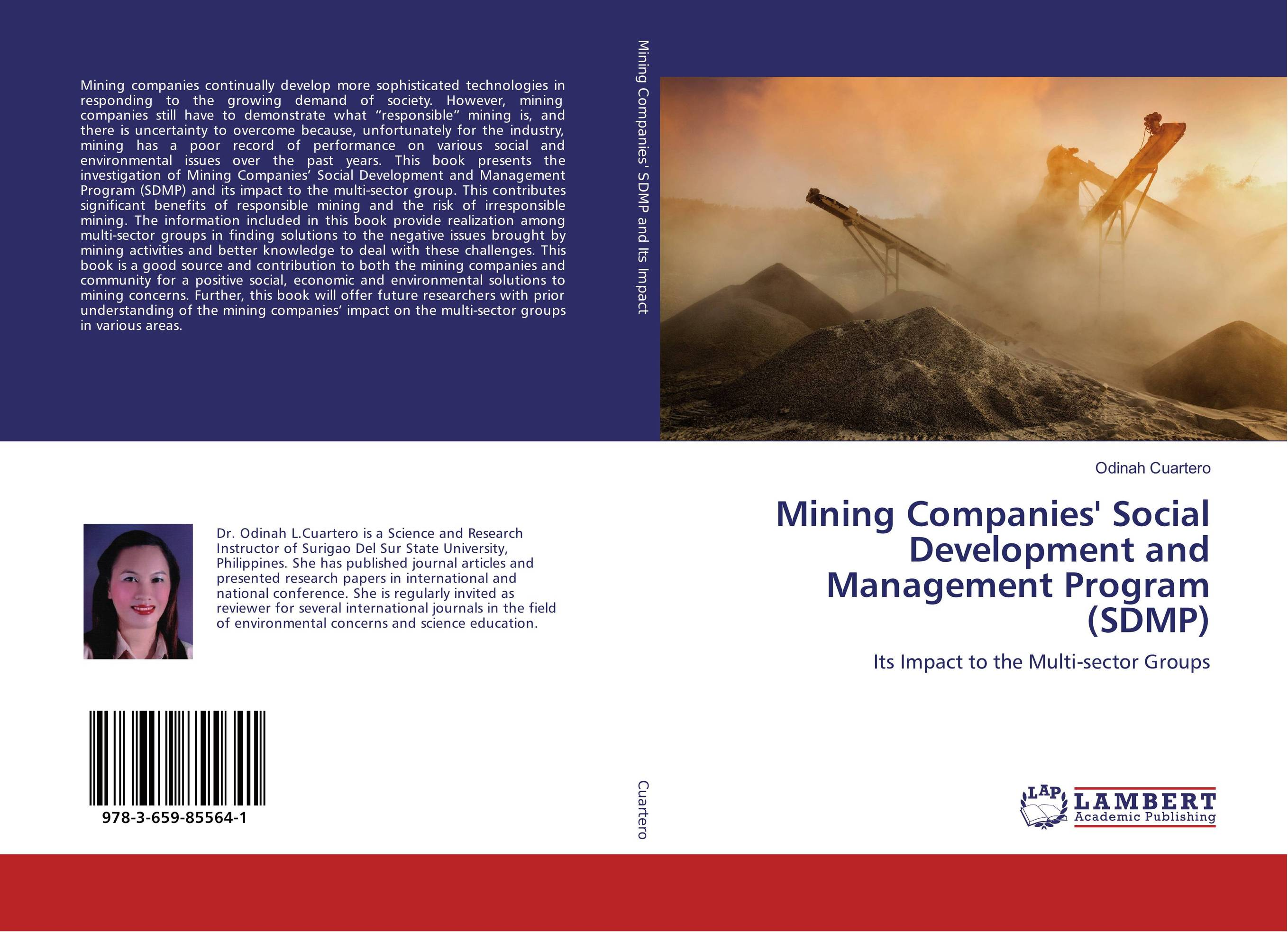Mining Companies' Social Development and Management Program (SDMP) robert benfari c understanding and changing your management style assessments and tools for self development