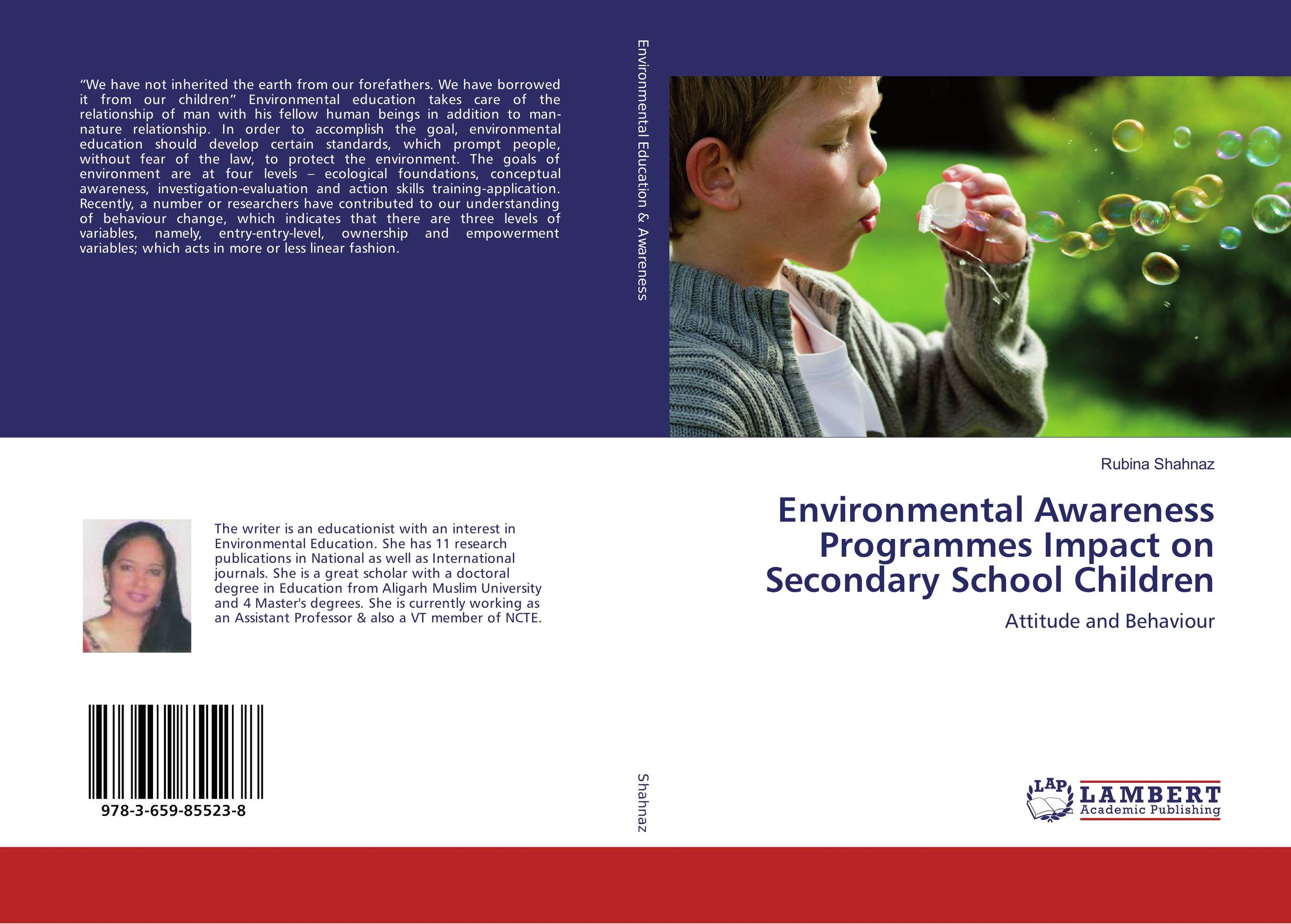 Environmental Awareness Programmes Impact on Secondary School Children environmental awareness in junior secondary school education
