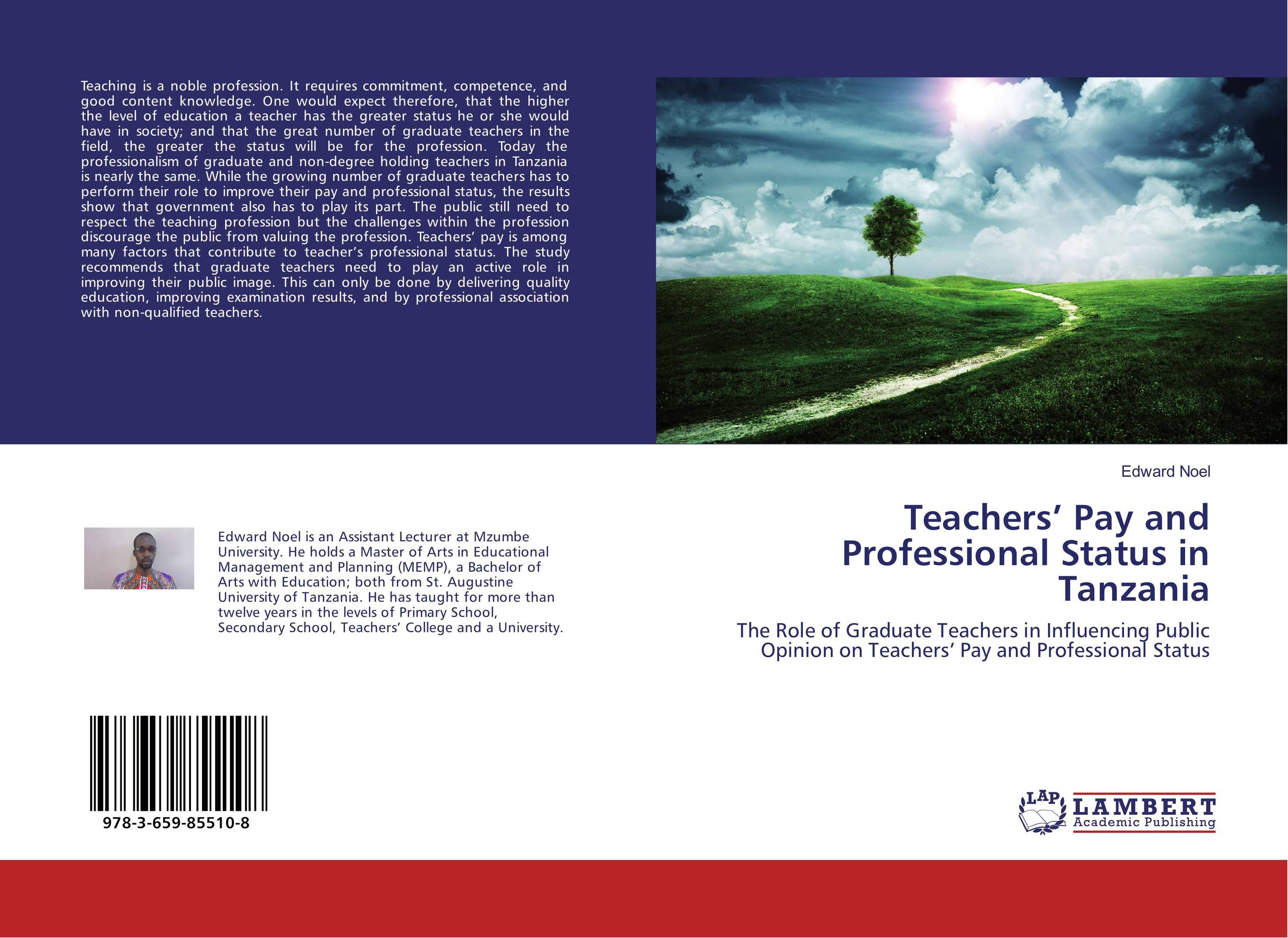 Teachers' Pay and Professional Status in Tanzania the principal s role in getting teachers to collaborate