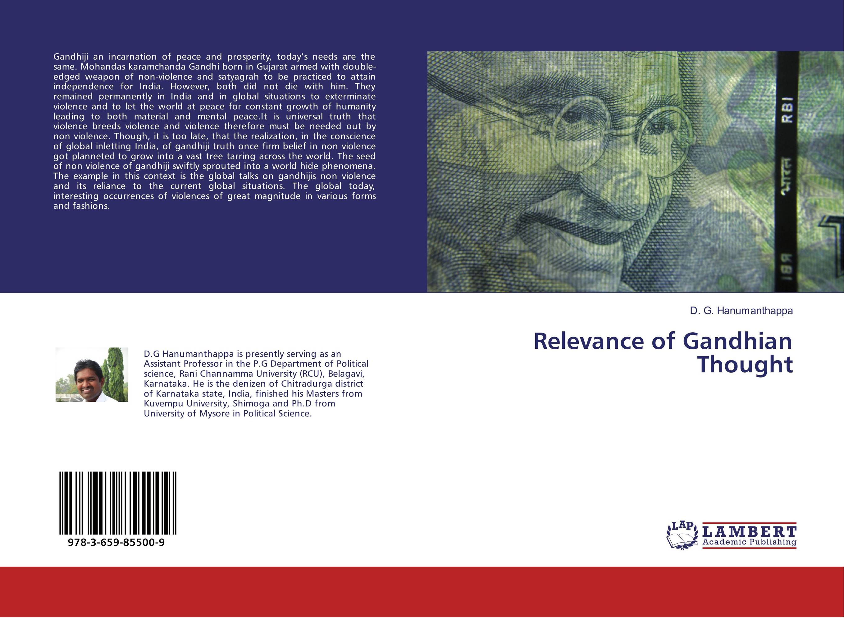 Relevance of Gandhian Thought nation gender and cultures of violence