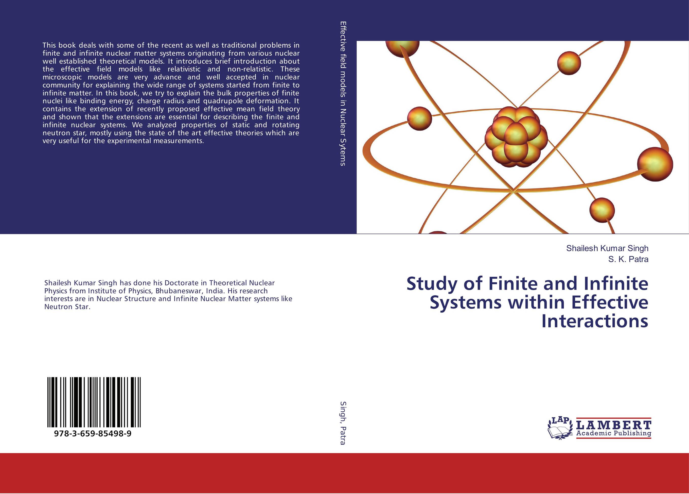 Study of Finite and Infinite Systems within Effective Interactions lidiya strautman introduction to the world of nuclear physics