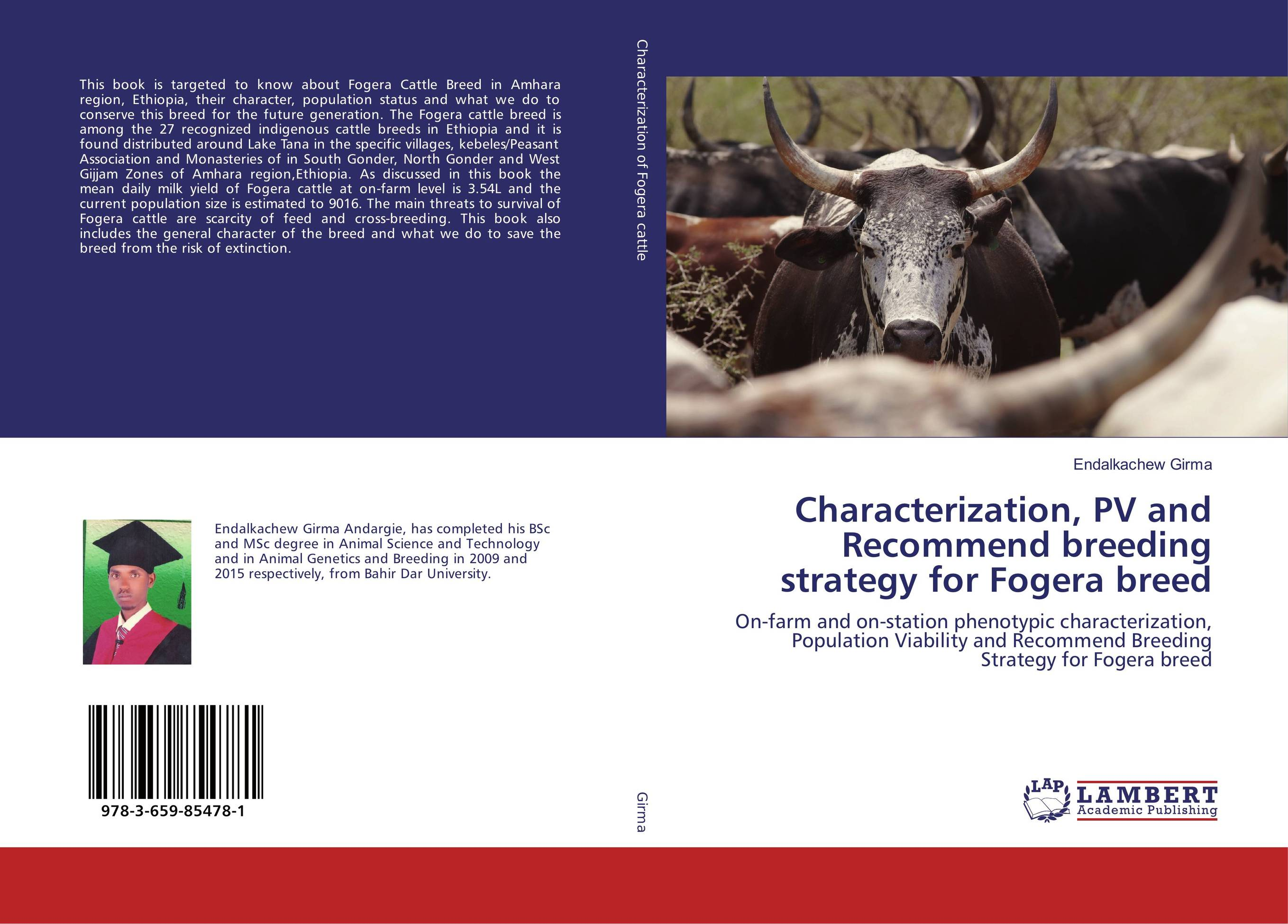 Characterization, PV and Recommend breeding strategy for Fogera breed cervical cancer in amhara region in ethiopia