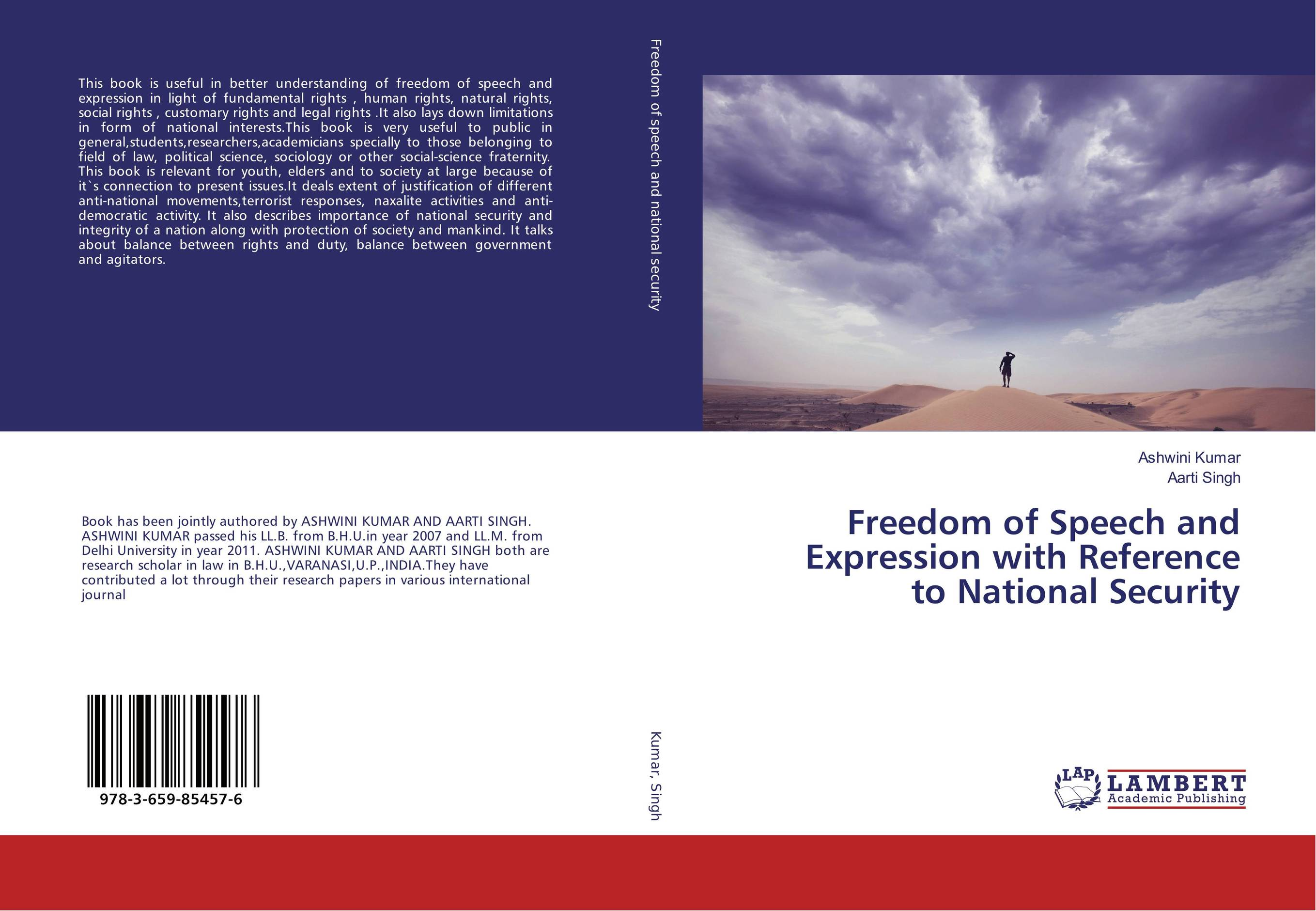 "Freedom of Speech and Expression with Reference to National Security freedom a documentary history of emancipation 1861a€""1867 2 volume set"