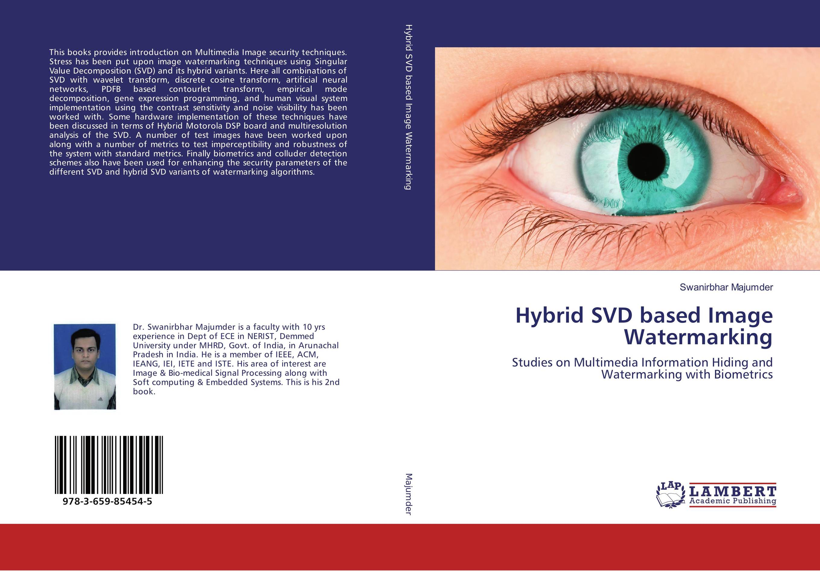 Hybrid SVD based Image Watermarking performance evaluation of color image watermarking