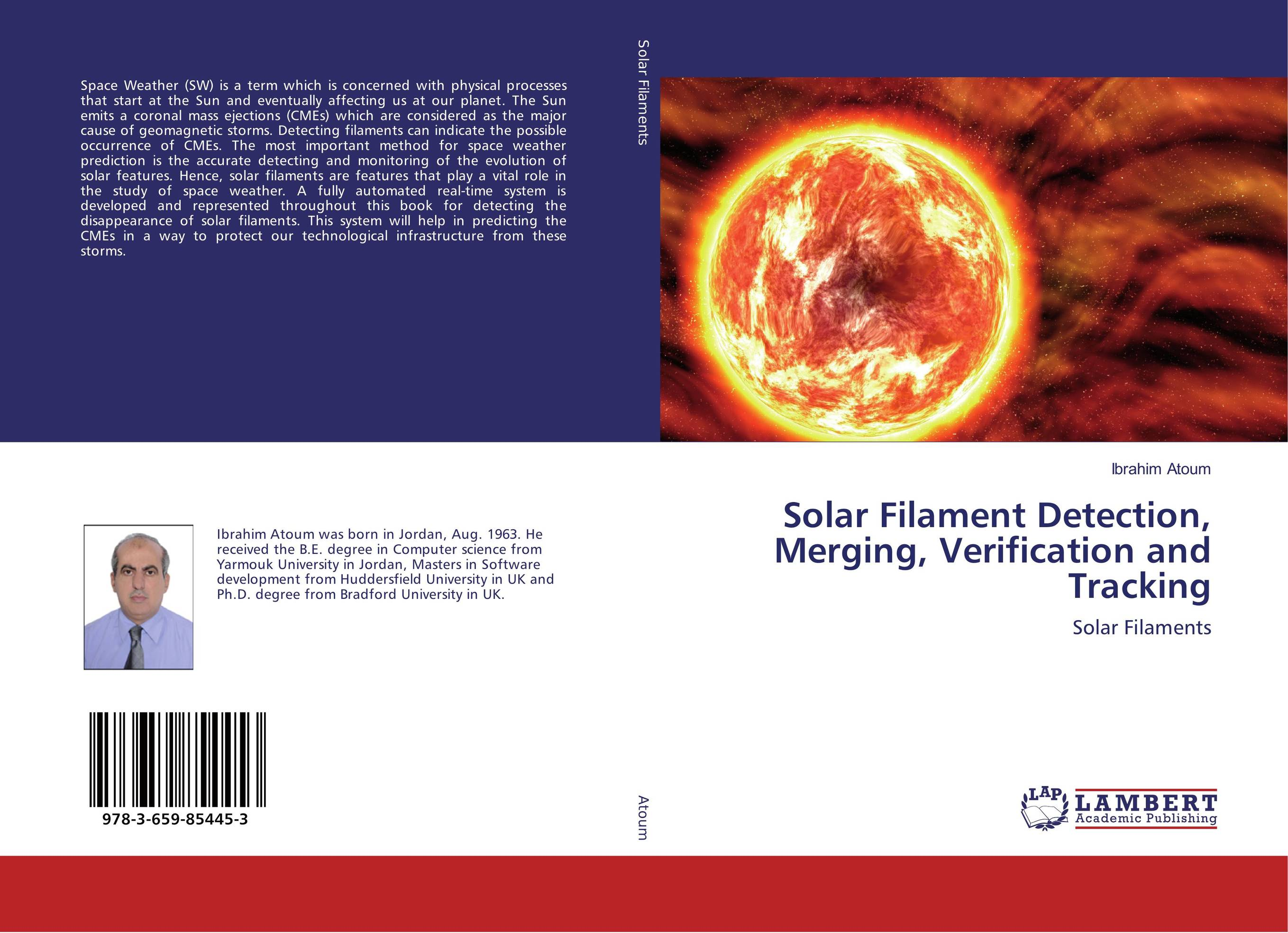 Solar Filament Detection, Merging, Verification and Tracking