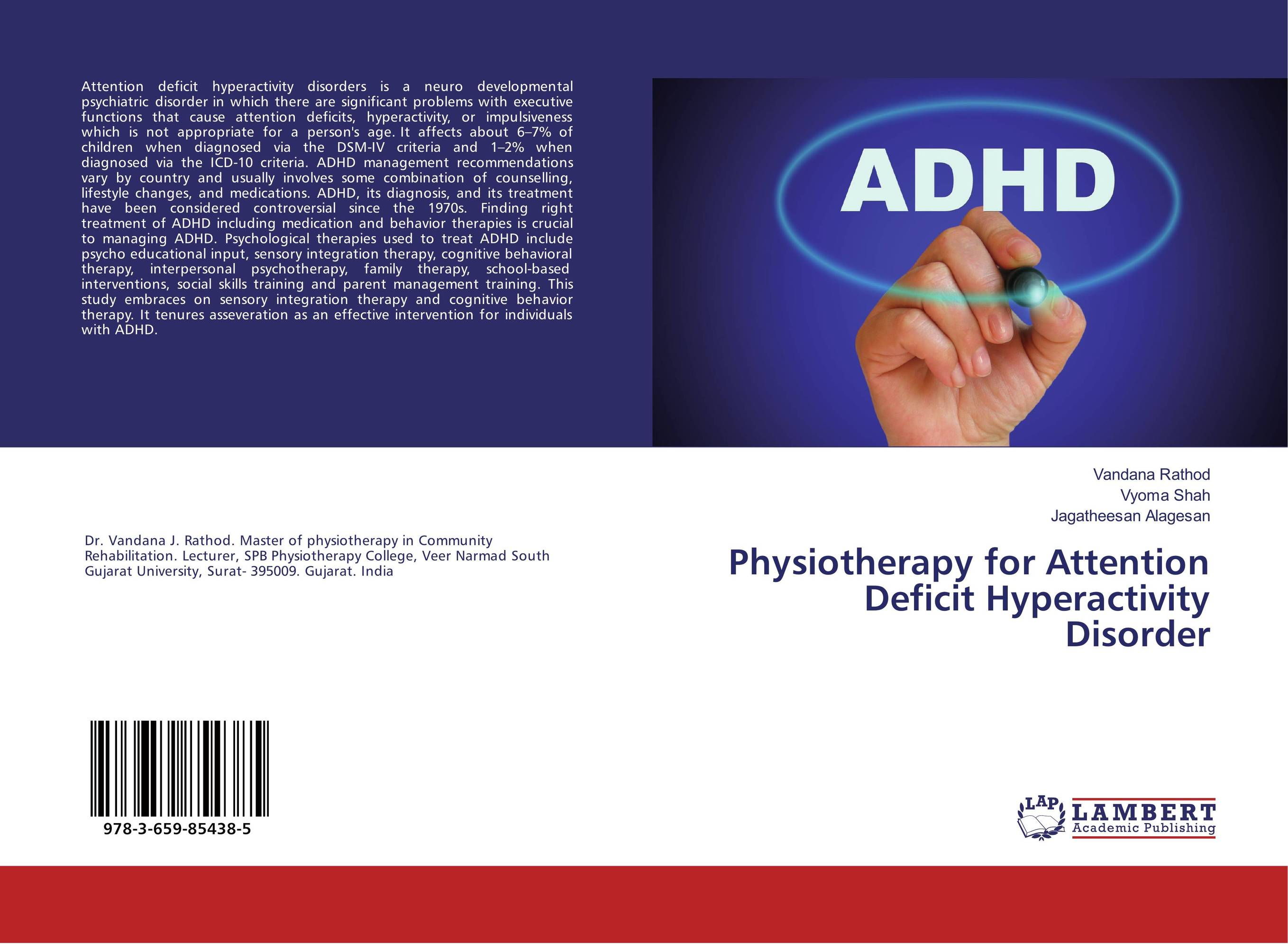 Physiotherapy for Attention Deficit Hyperactivity Disorder sandra rief f the adhd book of lists a practical guide for helping children and teens with attention deficit disorders