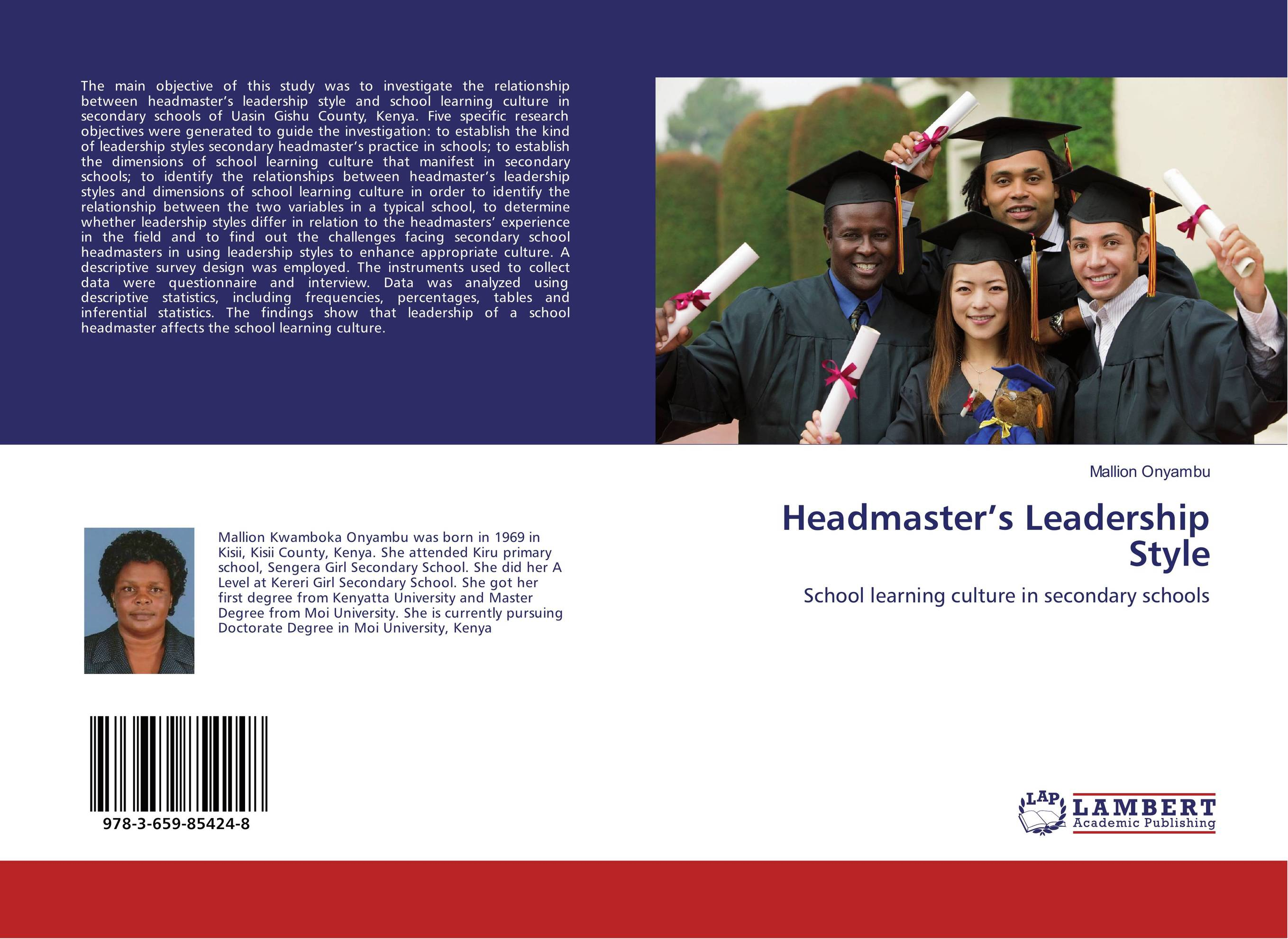 Headmaster's Leadership Style leadership style and performance