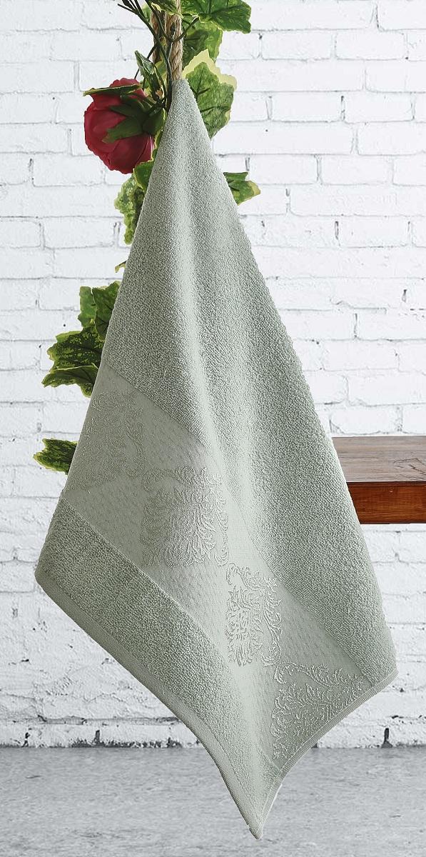 Полотенце Karna Dora, цвет: зеленый, 70 х 140 см2189/CHAR004Полотенце идеально высушит вашу кожу. Мягкое на ощупь - оно подойдет и детям, и взрослым. Красивый цвет долго будет вас радовать. Изготовлено из хлопка.
