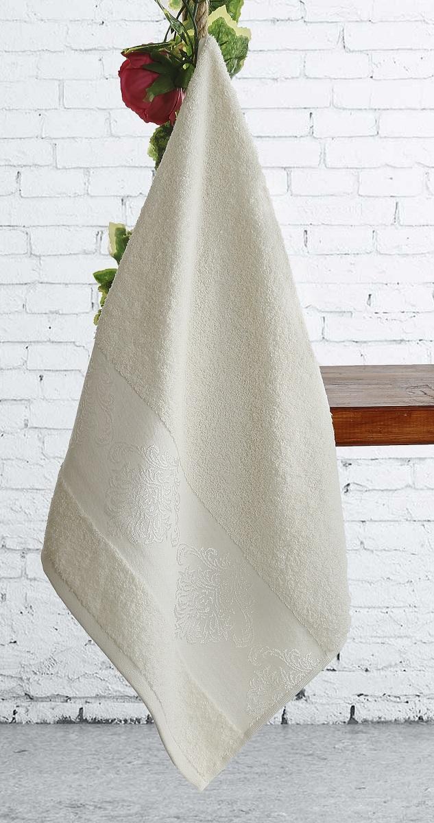 Полотенце Karna Dora, цвет: кремовый, 70 х 140 см2189/CHAR006