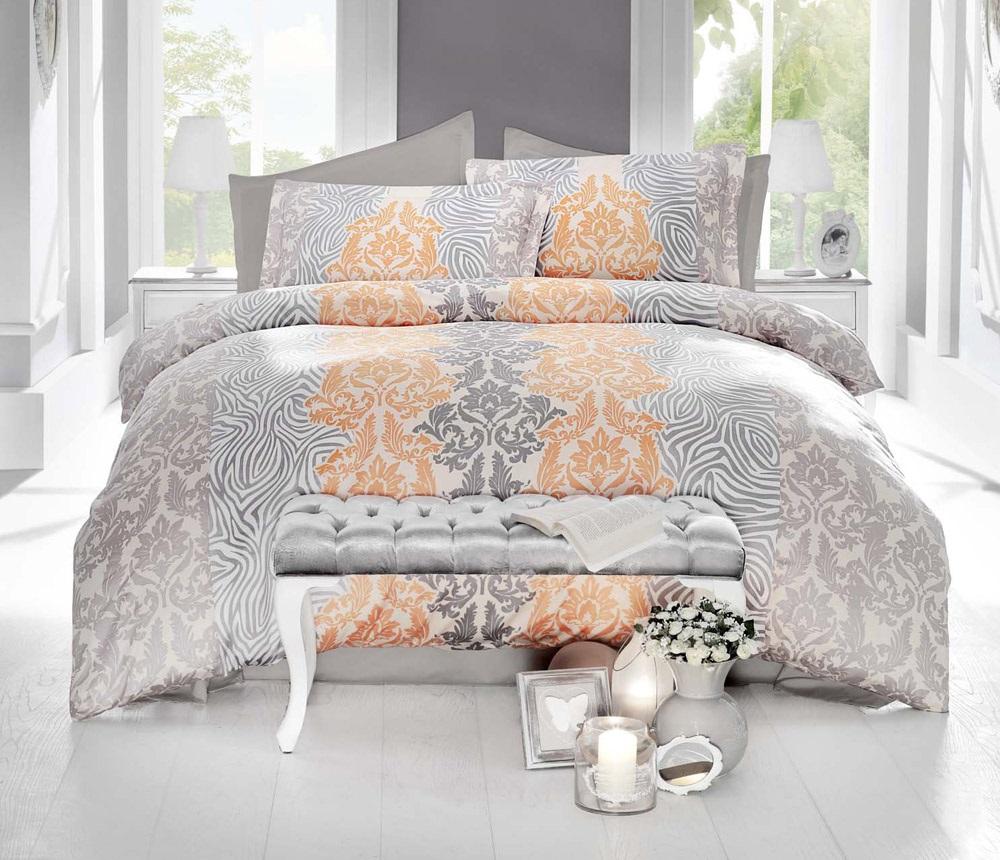 Комплект белья Altinbasak Vivid, 2-спальный, наволочки 50х70, цвет: кремовый256/19/CHAR004