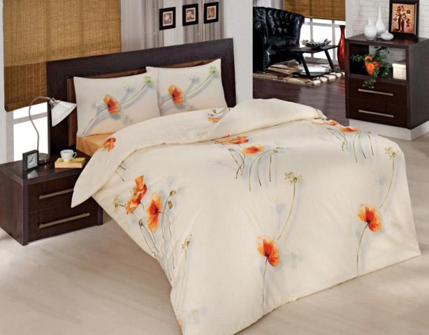 Комплект белья Altinbasak Nazenin, 2-спальный, наволочки 50х70, цвет: кремовый297/29/CHAR001
