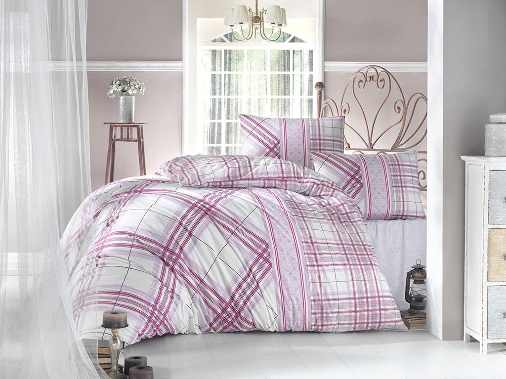 Комплект белья Altinbasak Viola, 2-спальный, наволочки 50х70, цвет: фуксия297/38/CHAR003