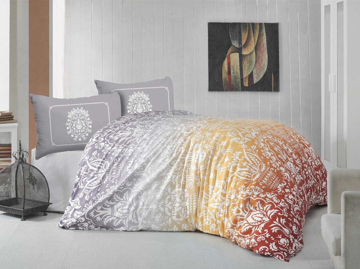 Комплект белья Altinbasak Vizyon, евро, наволочки 50х70297/39/CHAR002Комплект постельного белья включает в себя четыре предмета: простыню, пододеяльник, две наволочки, выполненные из ранфорса.Ранфорс - 100% хлопковое волокно, для которого характерна высокая плотность. Ткань отличается повышенной прочностью и износостойкостью, не теряет своего вида даже после частых стирок. Отлично подстраивается под температуру окружающей среды, даря зимой тепло, а летом - прохладу. Гипоаллергенен, хорошо пропускает воздух и впитывает влагу.Размер простыни: 240 x 260 см.Размер пододеяльника: 200 x 220 см.Размер наволочки: 50 x 70 см.
