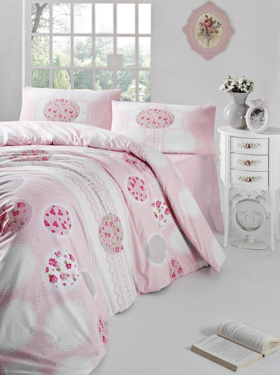 Комплект белья Altinbasak Belin, 2-спальный, наволочки 50х70, цвет: розовый297/7/CHAR002Комплект постельного белья включает в себя четыре предмета: простыню, пододеяльник, две наволочки, выполненные из ранфорса.Ранфорс - 100% хлопковое волокно, для которого характерна высокая плотность. Ткань отличается повышенной прочностью и износостойкостью, не теряет своего вида даже после частых стирок. Отлично подстраивается под температуру окружающей среды, даря зимой тепло, а летом - прохладу. Гипоаллергенен, хорошо пропускает воздух и впитывает влагу. Советы по выбору постельного белья от блогера Ирины Соковых. Статья OZON Гид