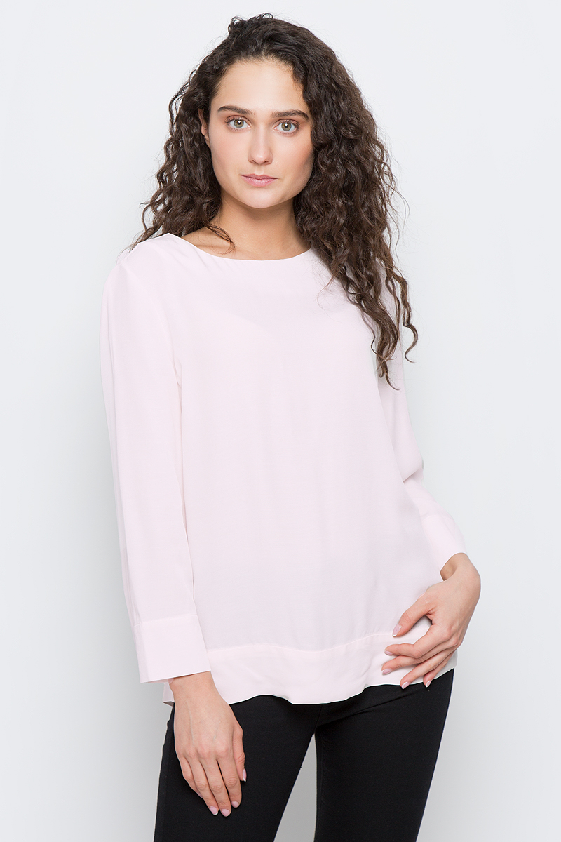 Блузка женская Selected Femme, цвет: светло-розовый. 16053852. Размер 40 (46) selected selected sld16050603