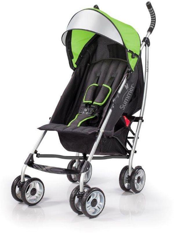 Summer Infant Коляска прогулочная 3D Lite цвет зеленый