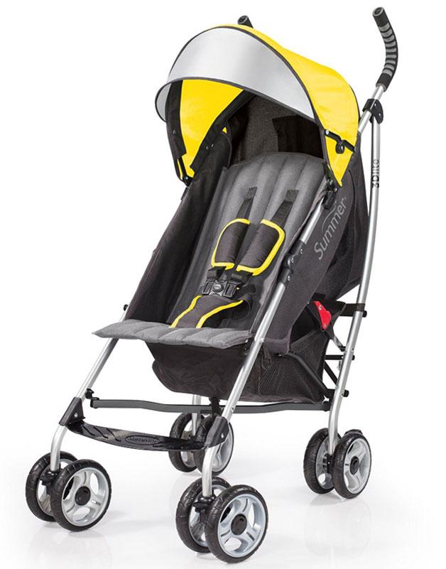 Summer Infant Коляска прогулочная 3D Lite цвет желтый