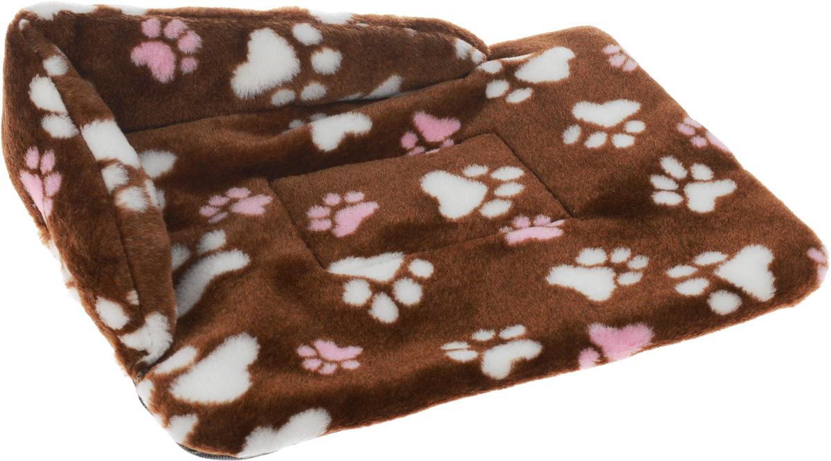 Лежак для животных Elite Valley Софа, цвет: коричневый, белый, розовый, 46 х 33 х 11 см. Л-6/1Л-6/1_коричневый, лапки белые и розовыеЛежак для животных Elite Valley Софа изготовлен из искусственного меха, наполнитель - холлофайбер. Он станет излюбленным местом вашего питомца, подарит ему спокойный и комфортный сон, а также убережет вашу мебель от многочисленной шерсти. На таком лежаке вашему любимцу будет мягко и тепло.