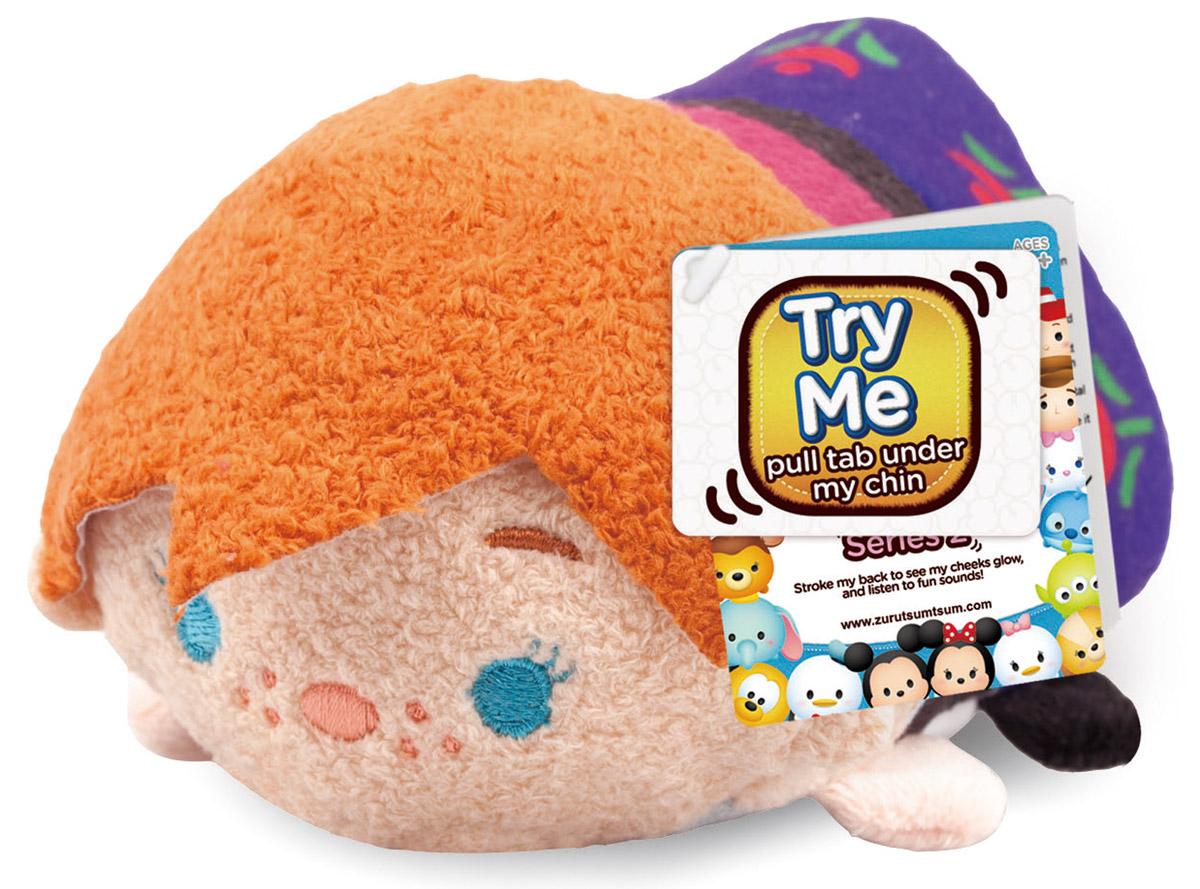 Tsum Tsum Мягкая озвученная игрушка Анна 13 см new in box tsum tsum stack n play toy shop original