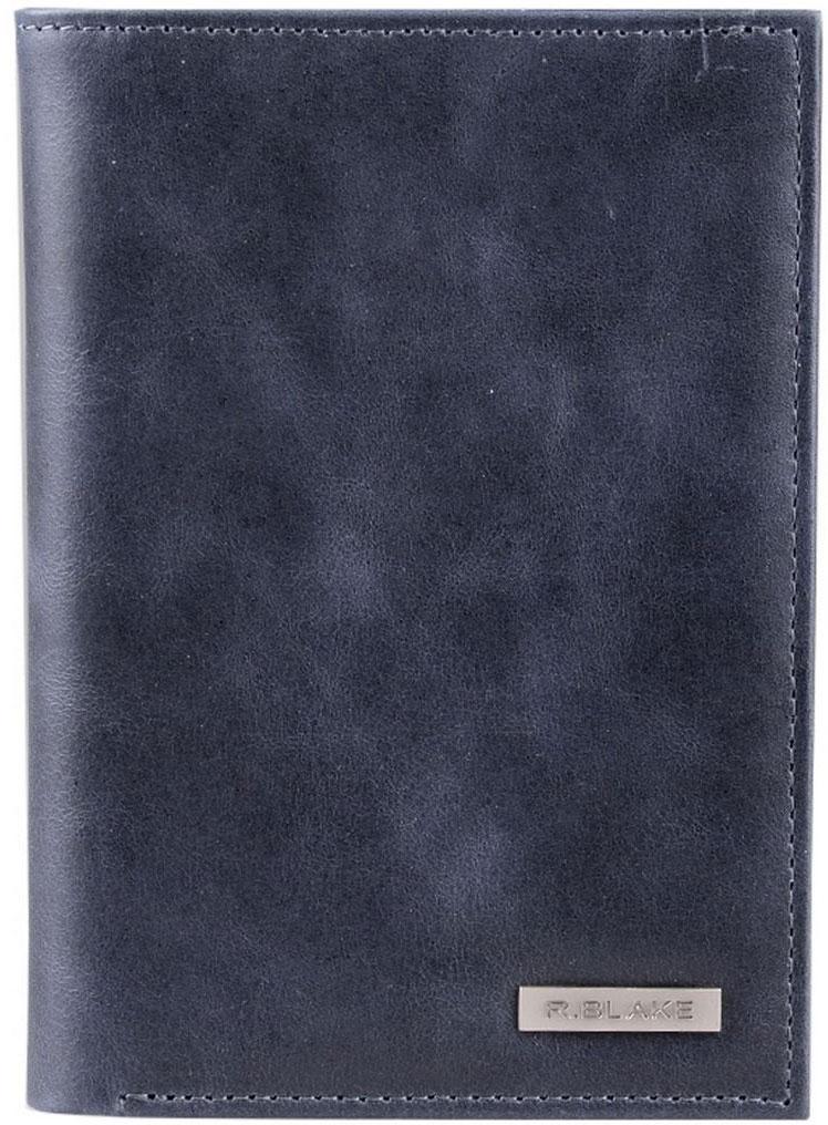 Купить Обложка для автодокументов R.Blake Cover Money Shammy , цвет: синий. GCVY00-000000-D0608O-K101