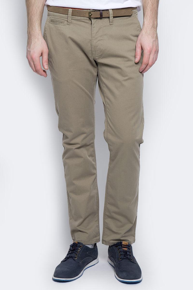 Брюки мужские Tom Tailor, цвет: бежевый. 6404787.09.10_8443. Размер 34-32 (50-32) брюки мужские tom tailor цвет зеленый 6855008 00 12 7807 размер l 50