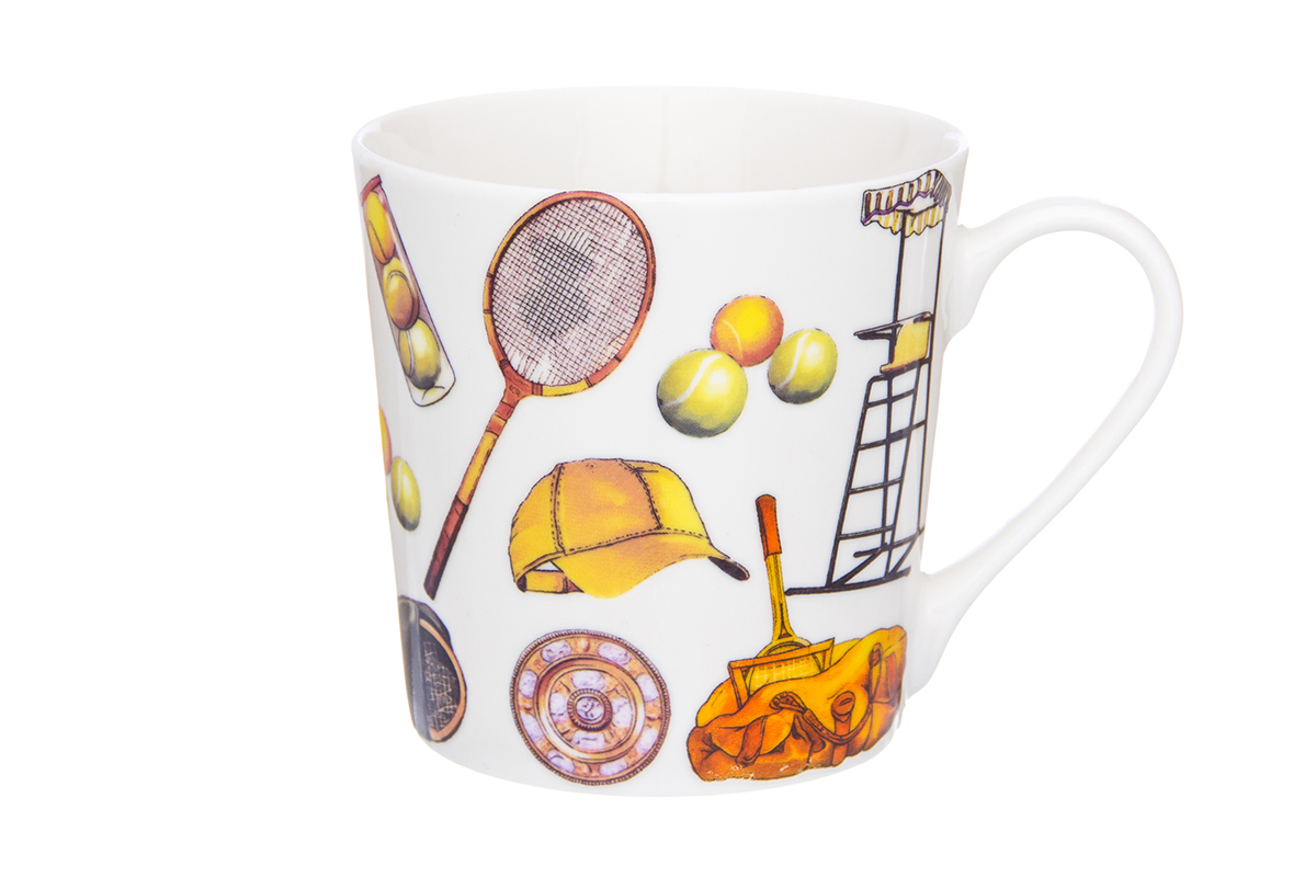 Кружка Elan Gallery Спорт, 400 мл230103Кружка классической формы с удобной ручкой. Подходят для любых горячих и холодных напитков, чая, кофе, какао. Изделие имеет подарочную упаковку, поэтому станет желанным подарком для Ваших близких! Не рекомендуется применять абразивные моющие средства.Объем кружки: 400 мл
